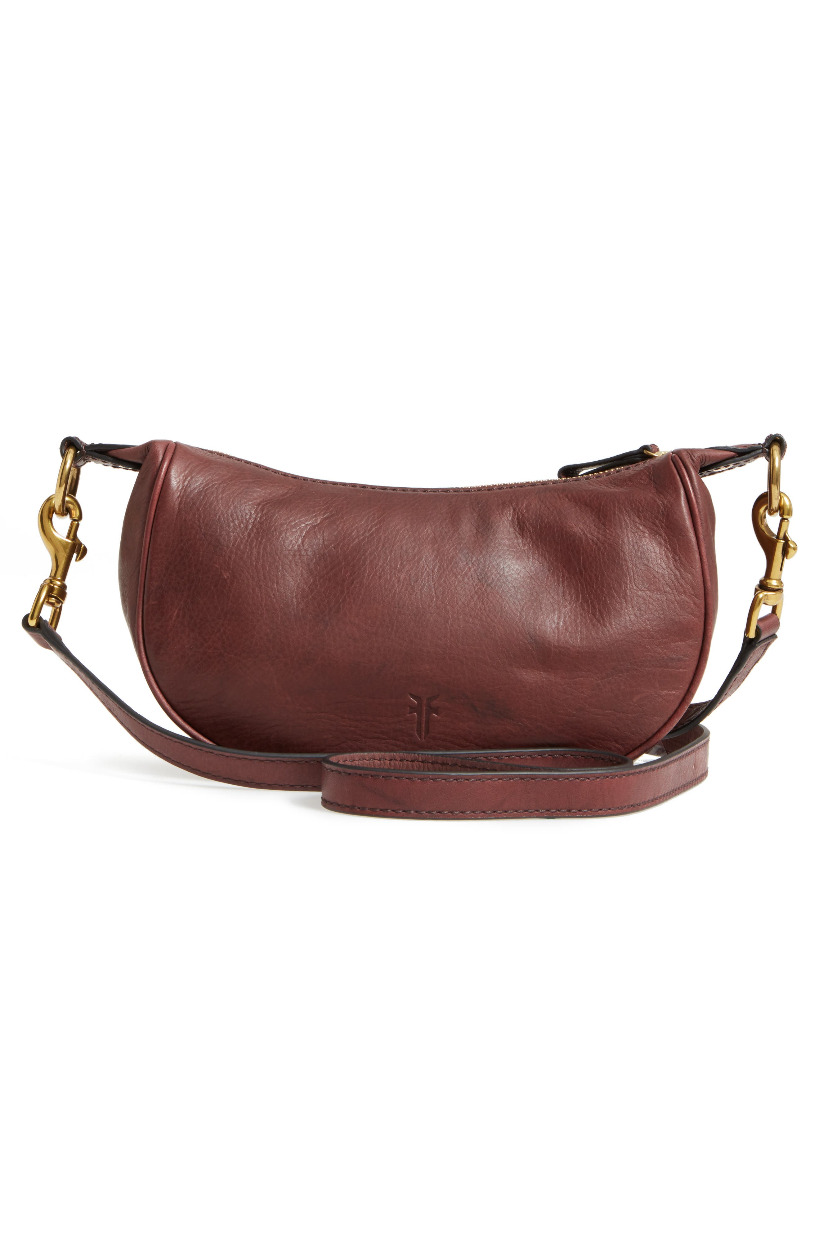 Small Campus Leather Crossbody Bag,                             Alternate thumbnail 3, color,                             210