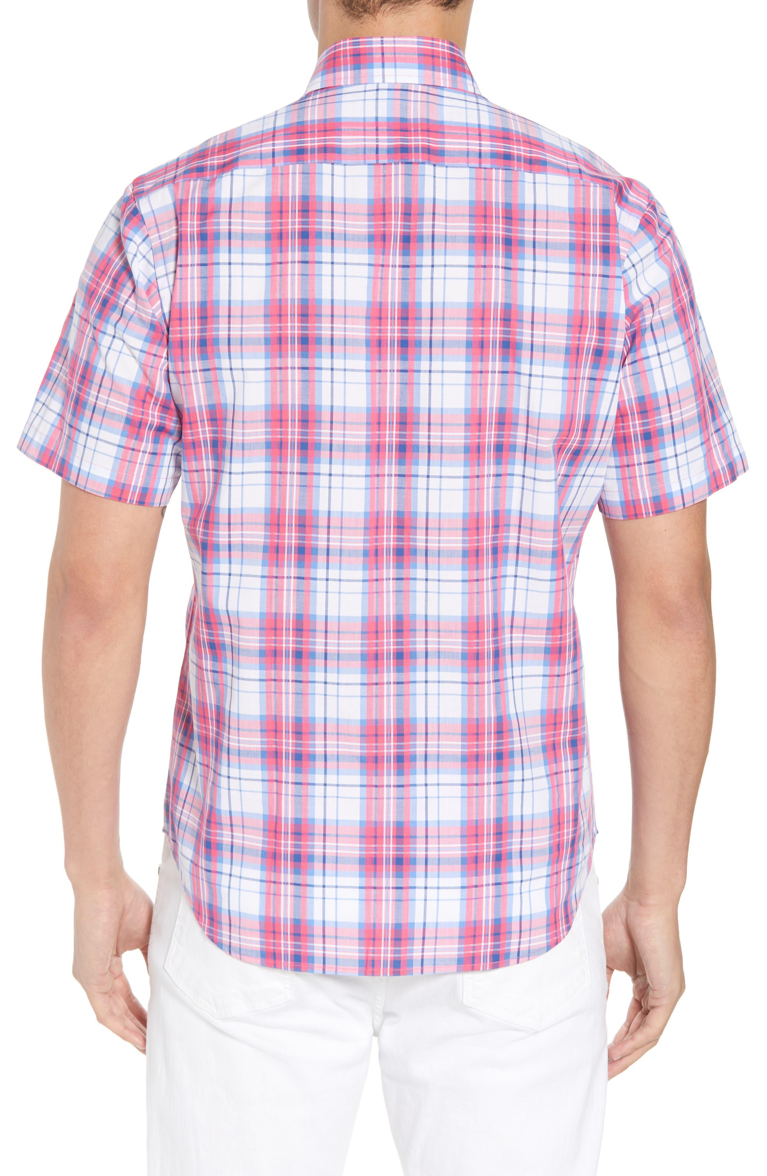 Alesso Regular Fit Plaid Sport Shirt,                             Alternate thumbnail 2, color,                             950