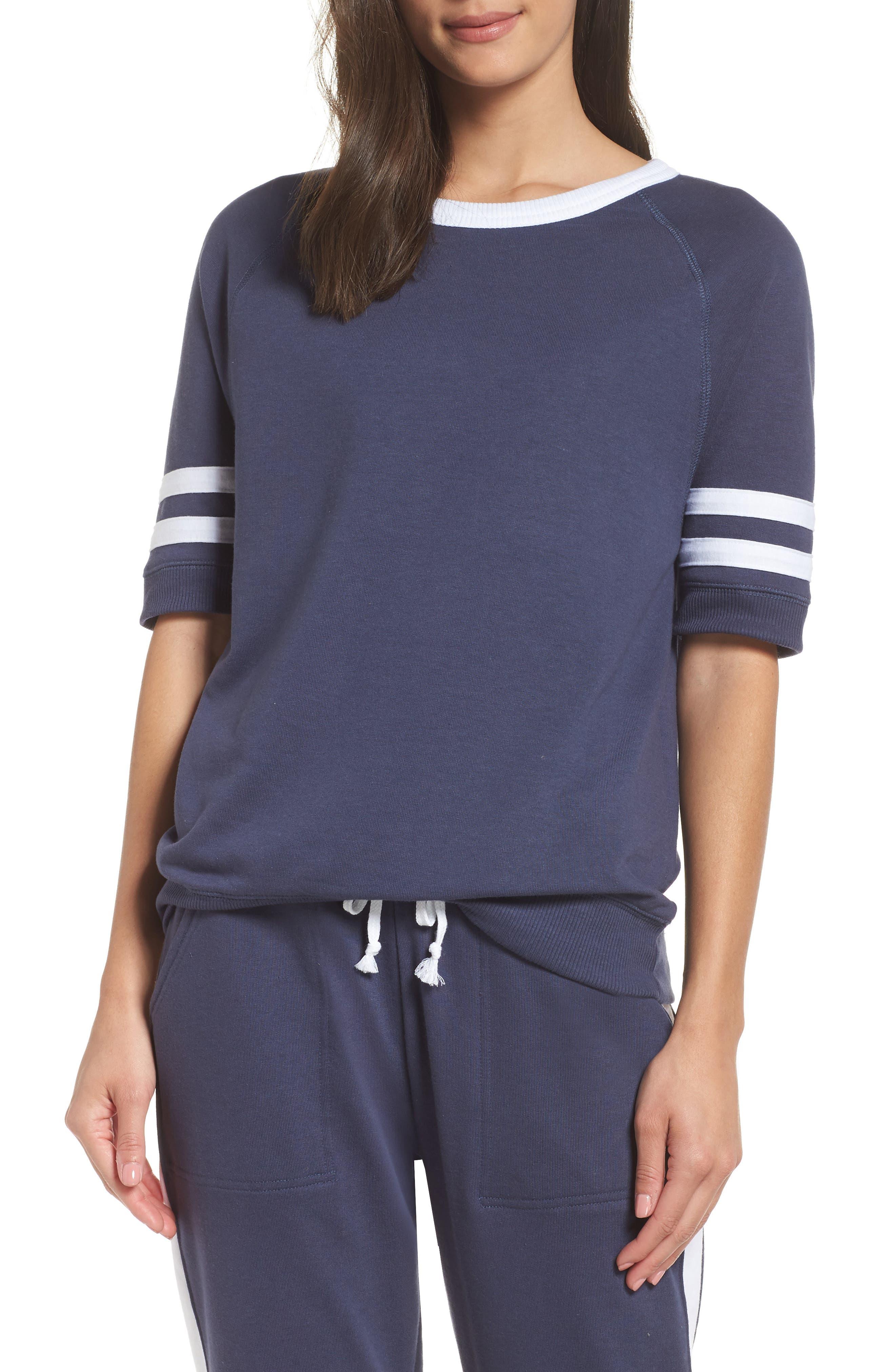 Alternative The Fifty Yardliner Pullover, Blue