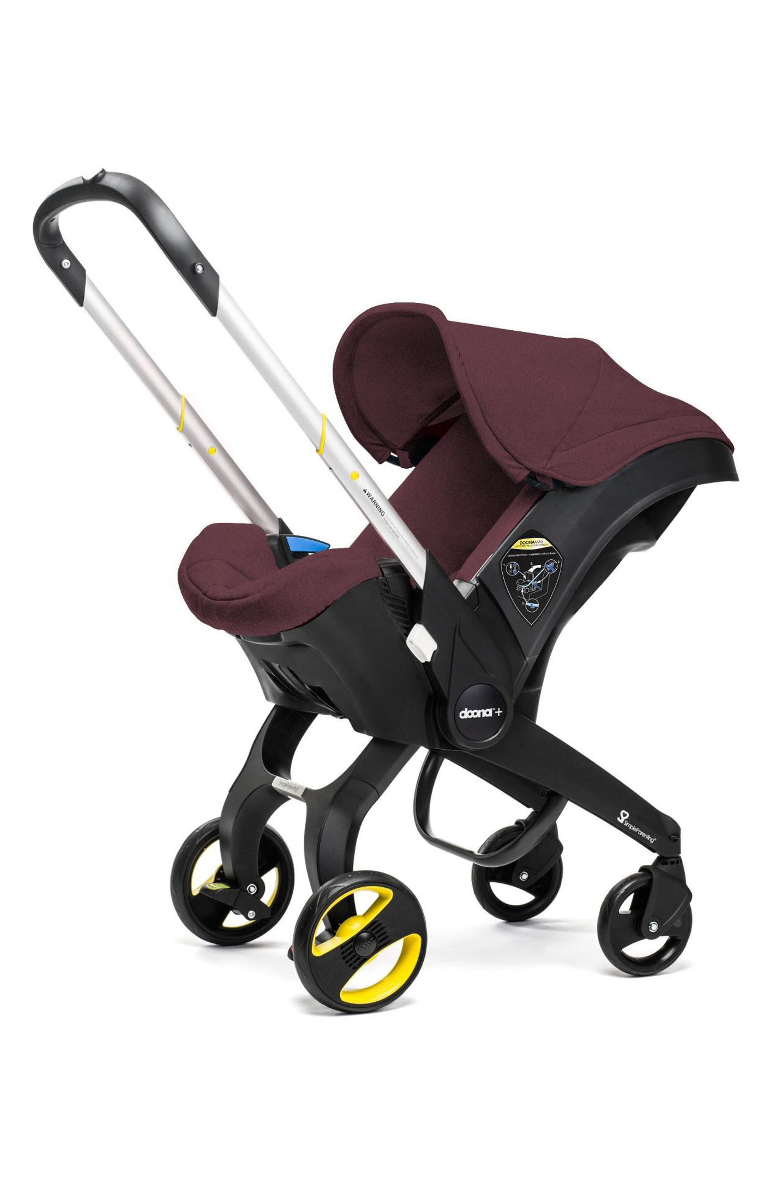 Convertible Infant Car Seat/Compact Stroller System, Main, color, 930