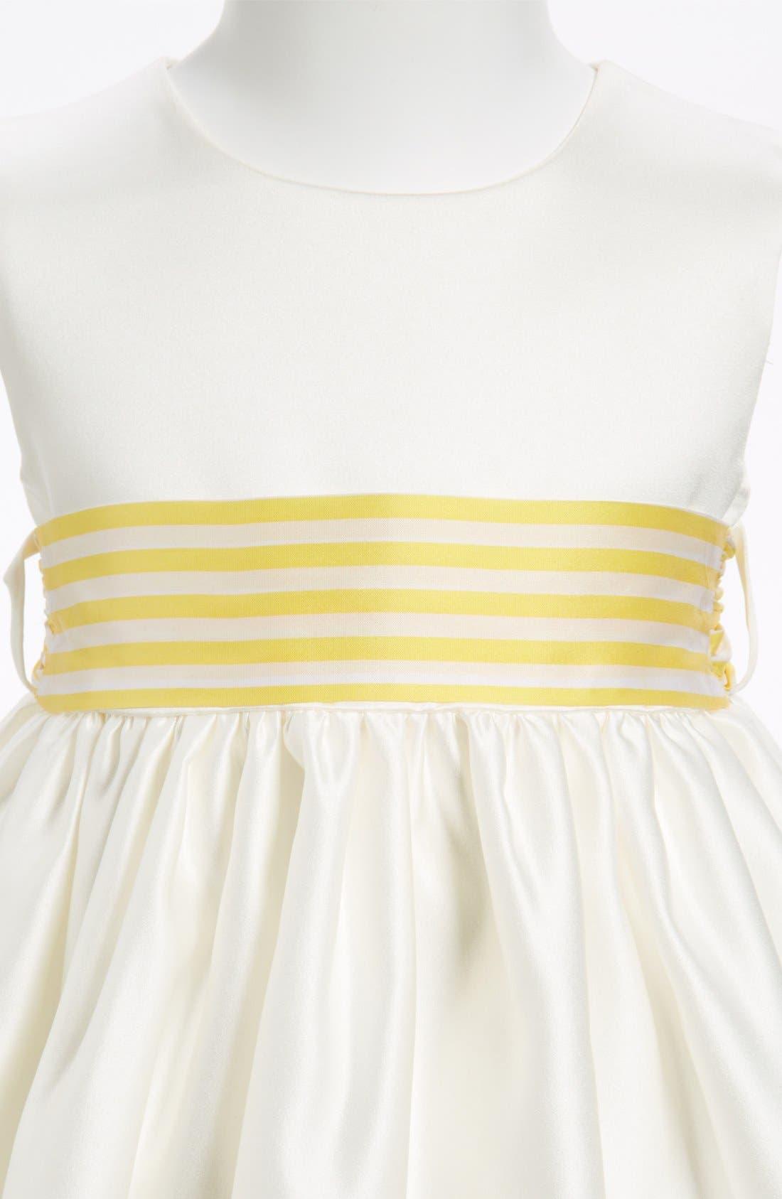 Stripe Sash,                             Alternate thumbnail 2, color,                             YELLOW STRIPE