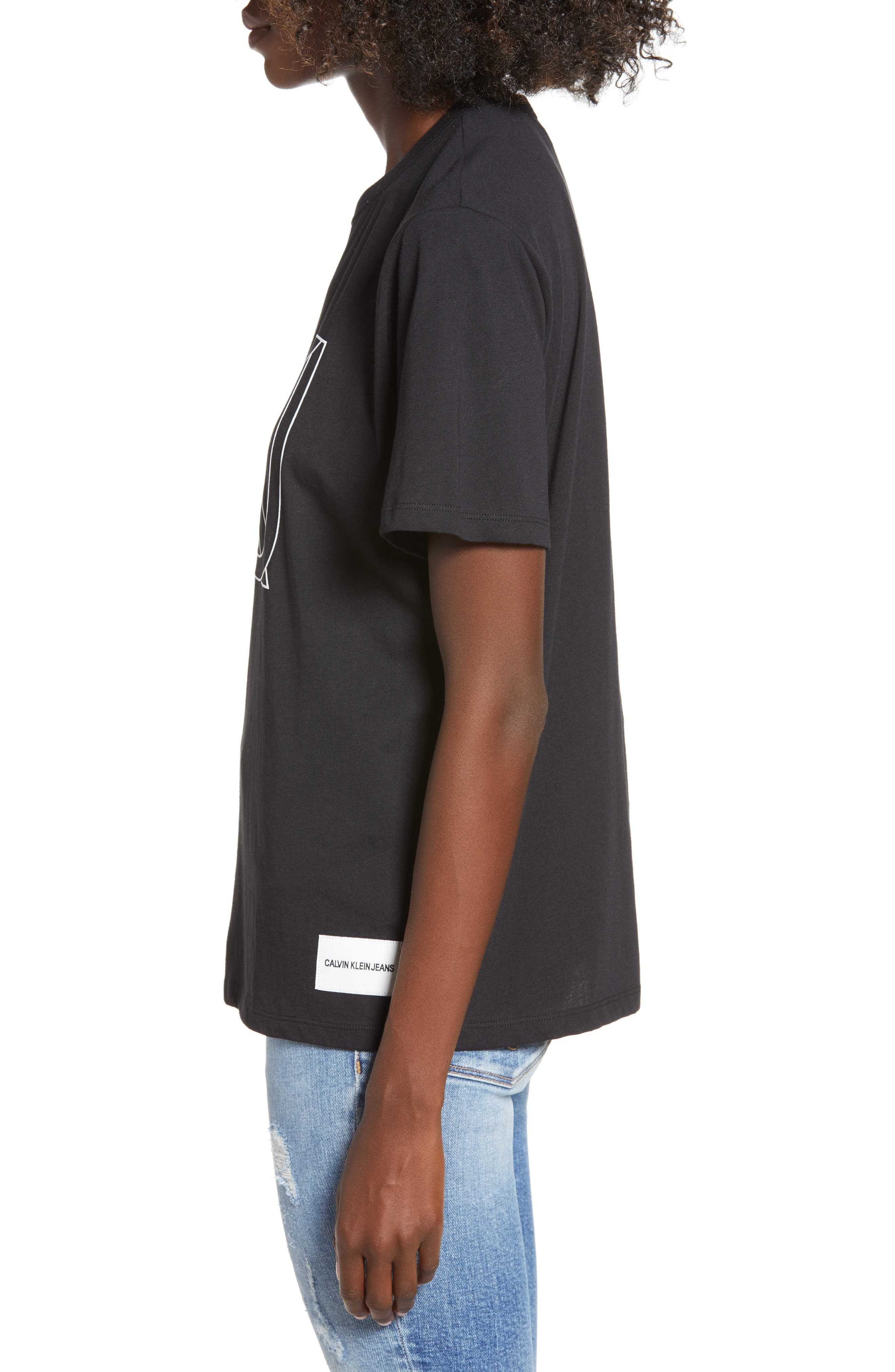 Easy Graphic Tee,                             Alternate thumbnail 3, color,                             001