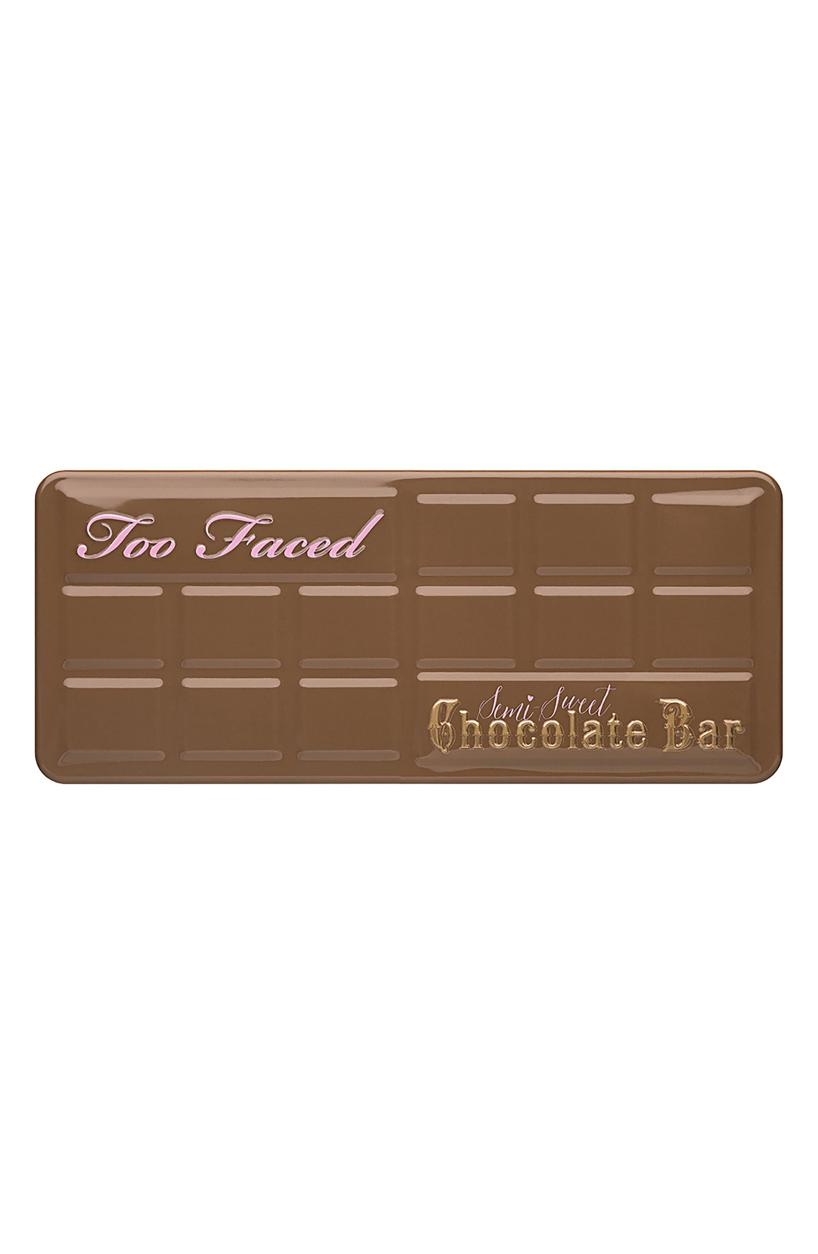 Semi-Sweet Chocolate Bar Eyeshadow Palette,                             Alternate thumbnail 4, color,                             NO COLOR