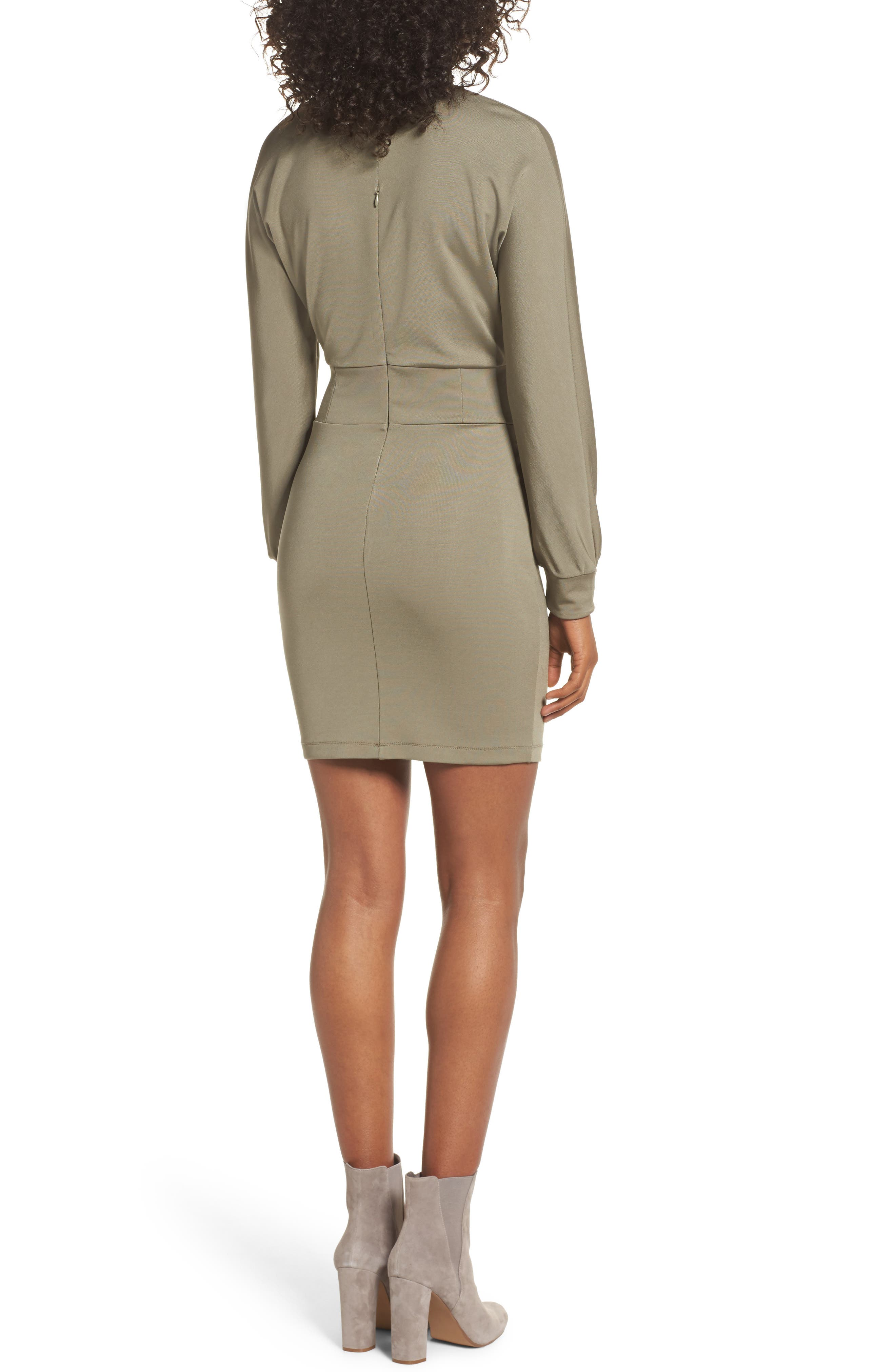 Mila Corset Body-Con Dress,                             Alternate thumbnail 2, color,