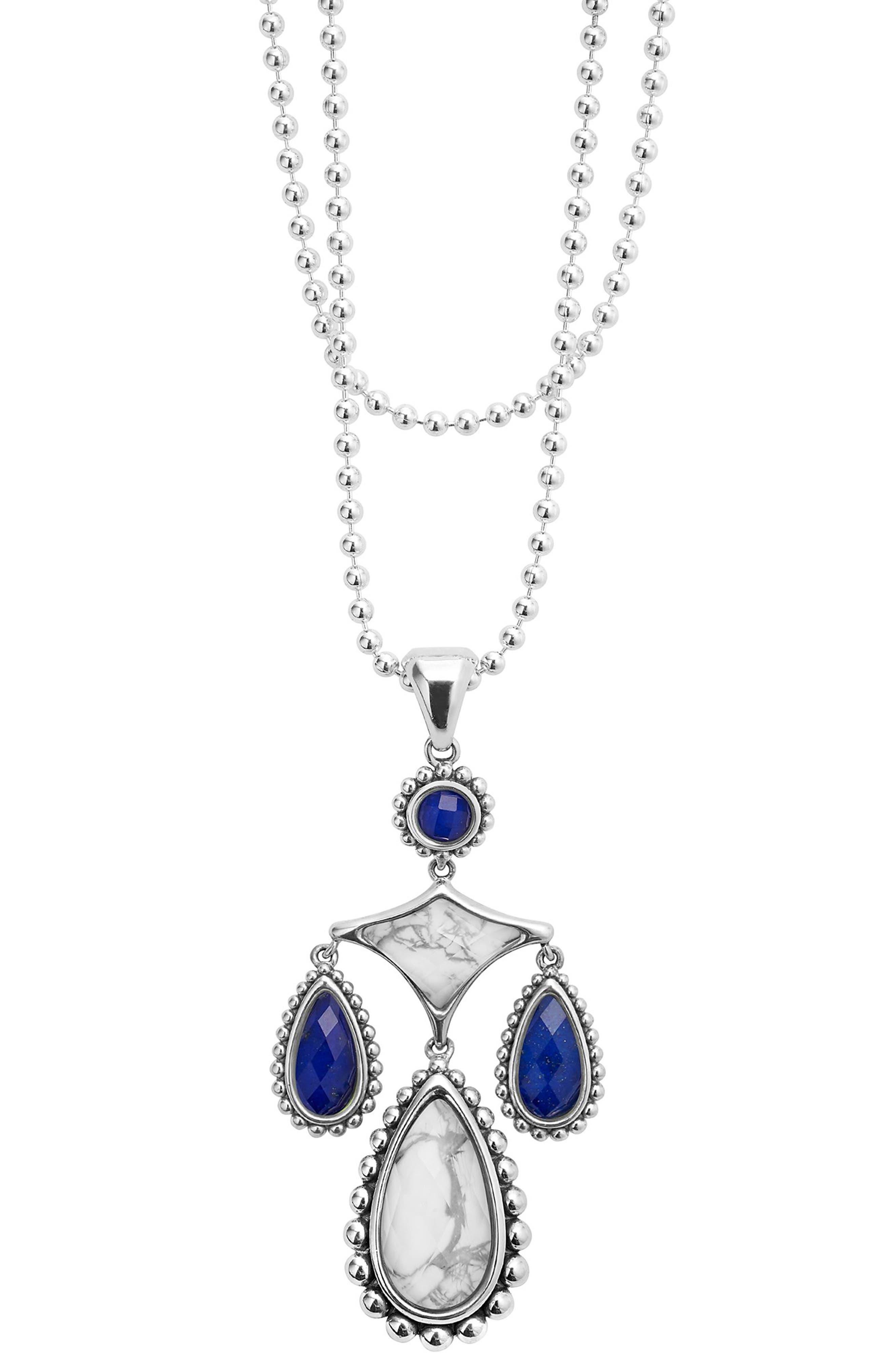 Maya Drop Pendant Necklace,                         Main,                         color, 900