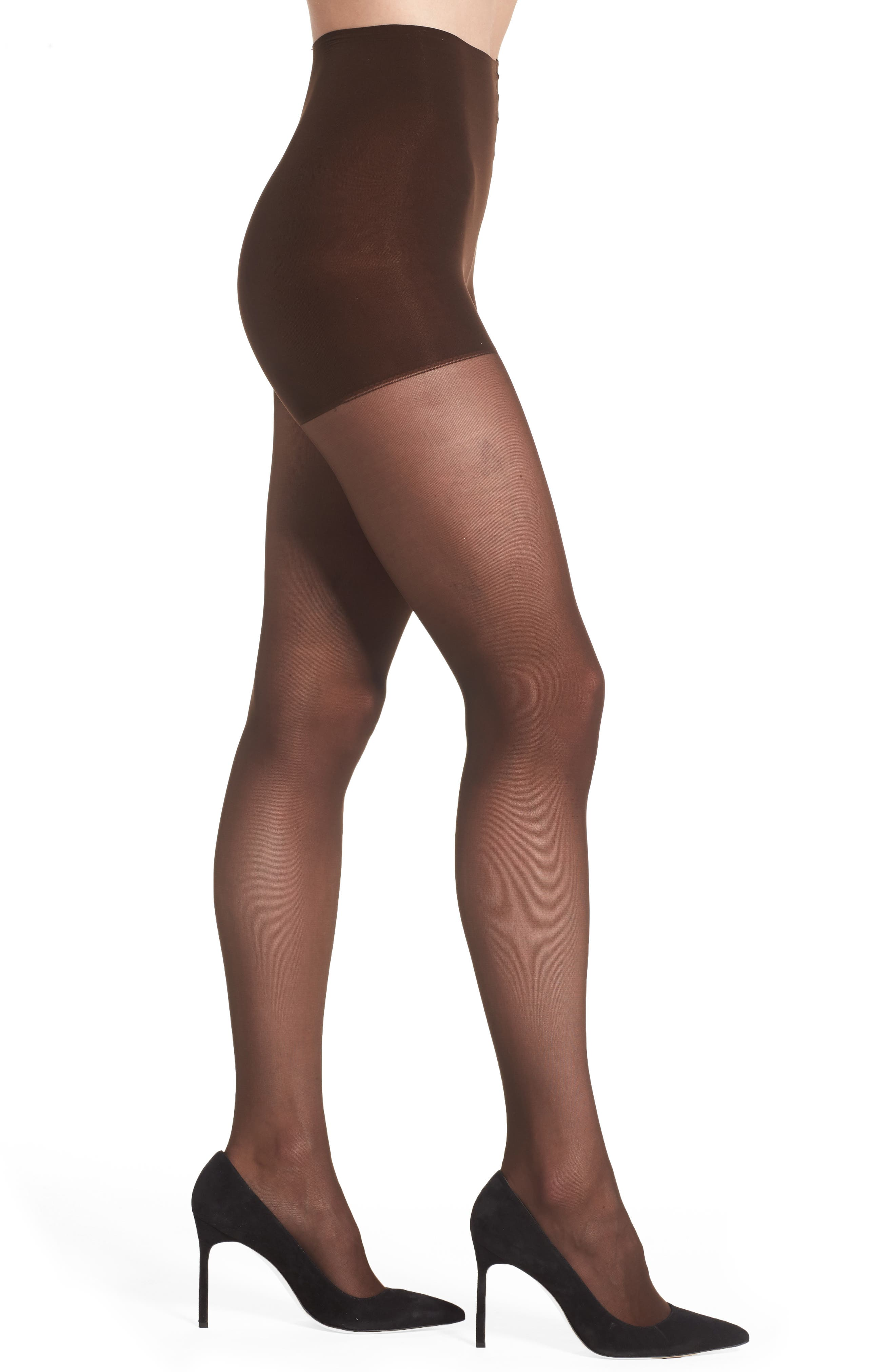 Light Opaque Control Top Tights,                             Alternate thumbnail 31, color,