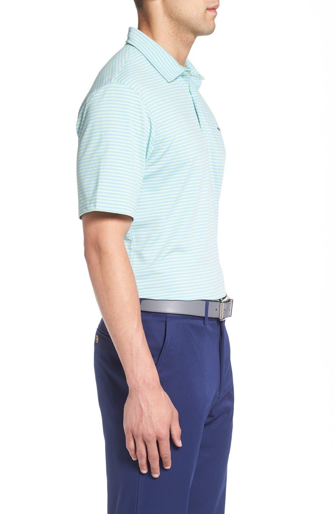 Kennedy Stripe Golf Polo,                             Alternate thumbnail 45, color,