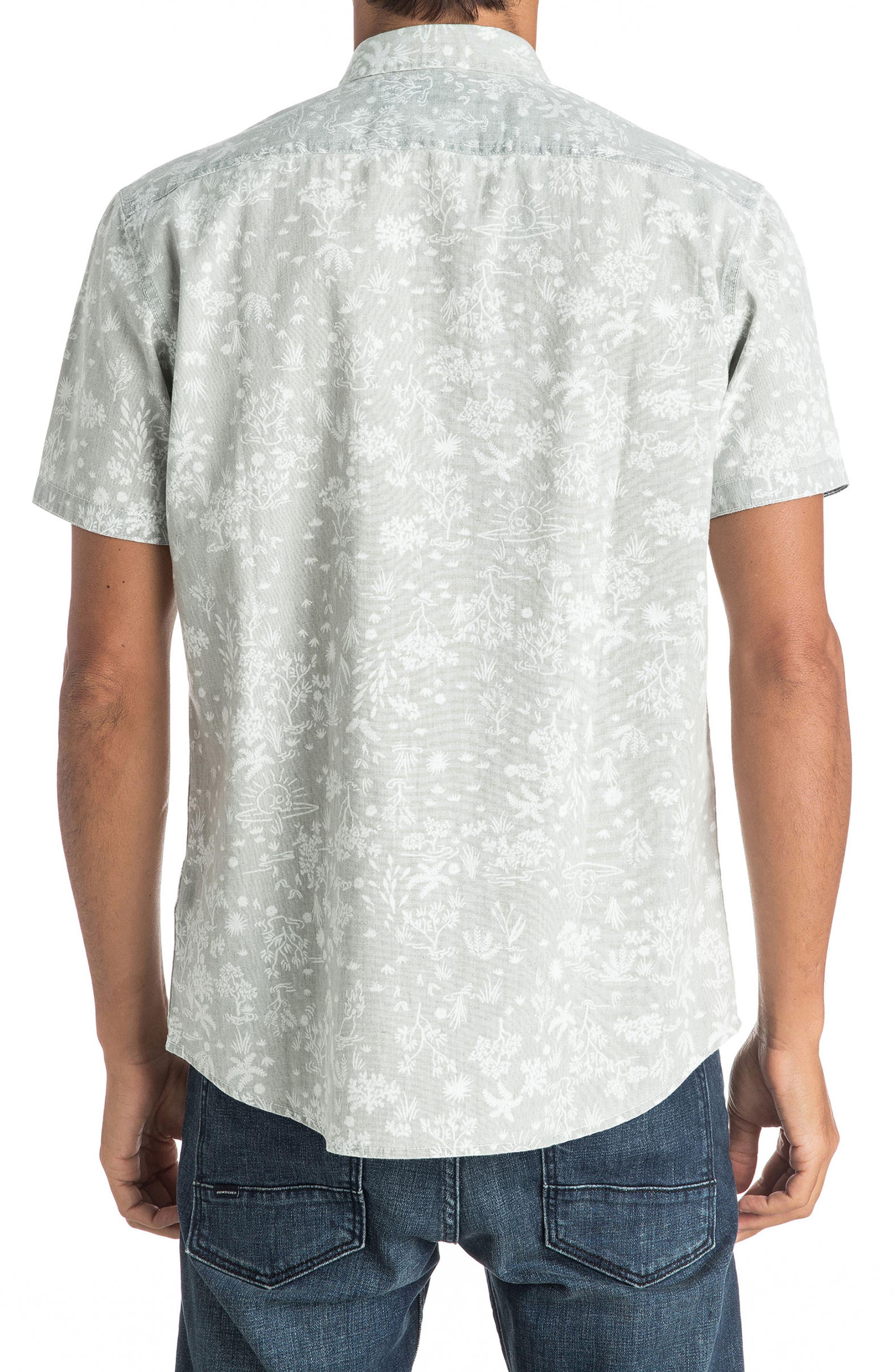 Bloom Field Diver Woven Shirt,                             Alternate thumbnail 2, color,                             005