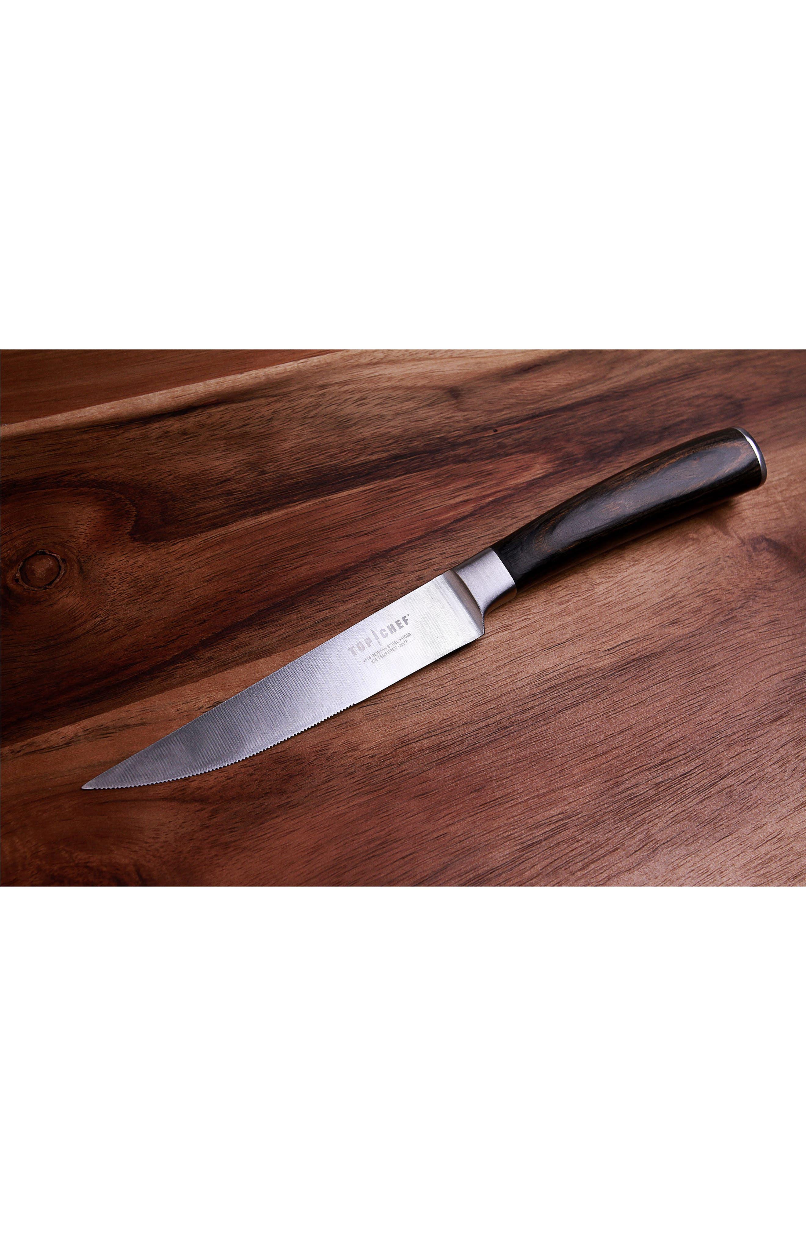 Dynasty 4-Piece Steak Knife Set,                             Alternate thumbnail 2, color,                             DYNASTY
