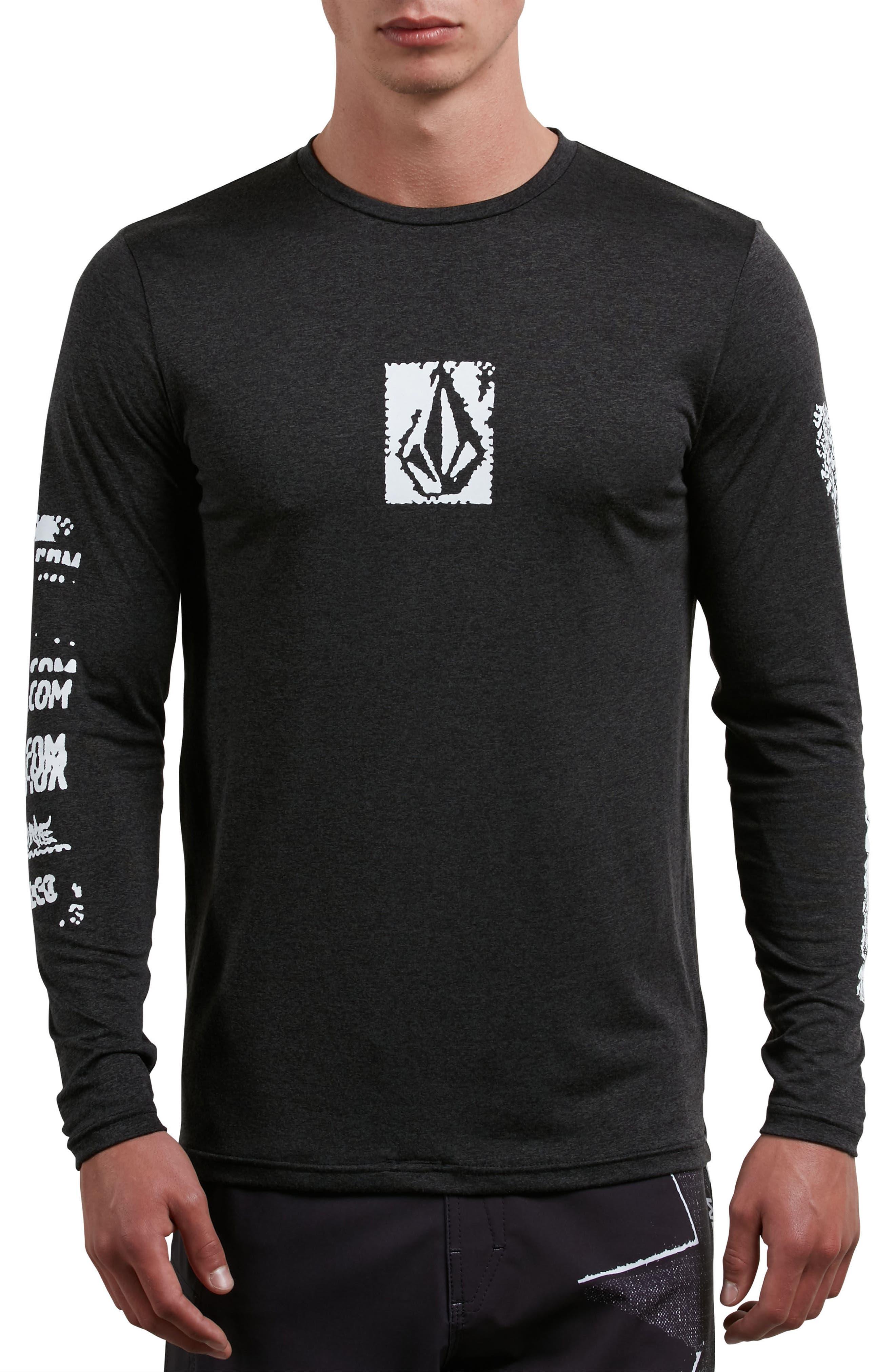 Lido Pixel Graphic Long Sleeve T-Shirt,                             Main thumbnail 1, color,