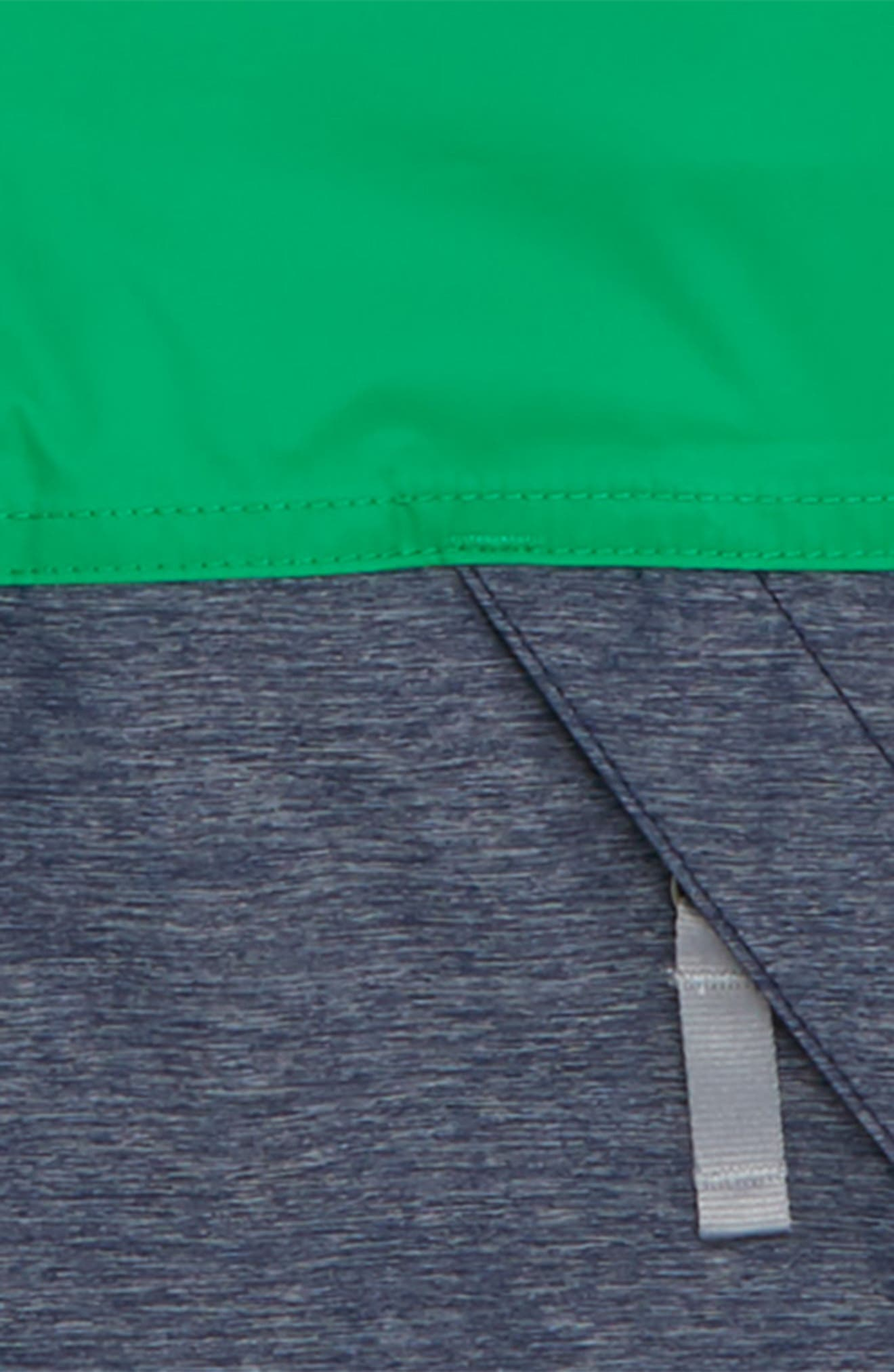 Warm Storm Hooded Waterproof Jacket,                             Alternate thumbnail 2, color,                             PRIMARY GREEN