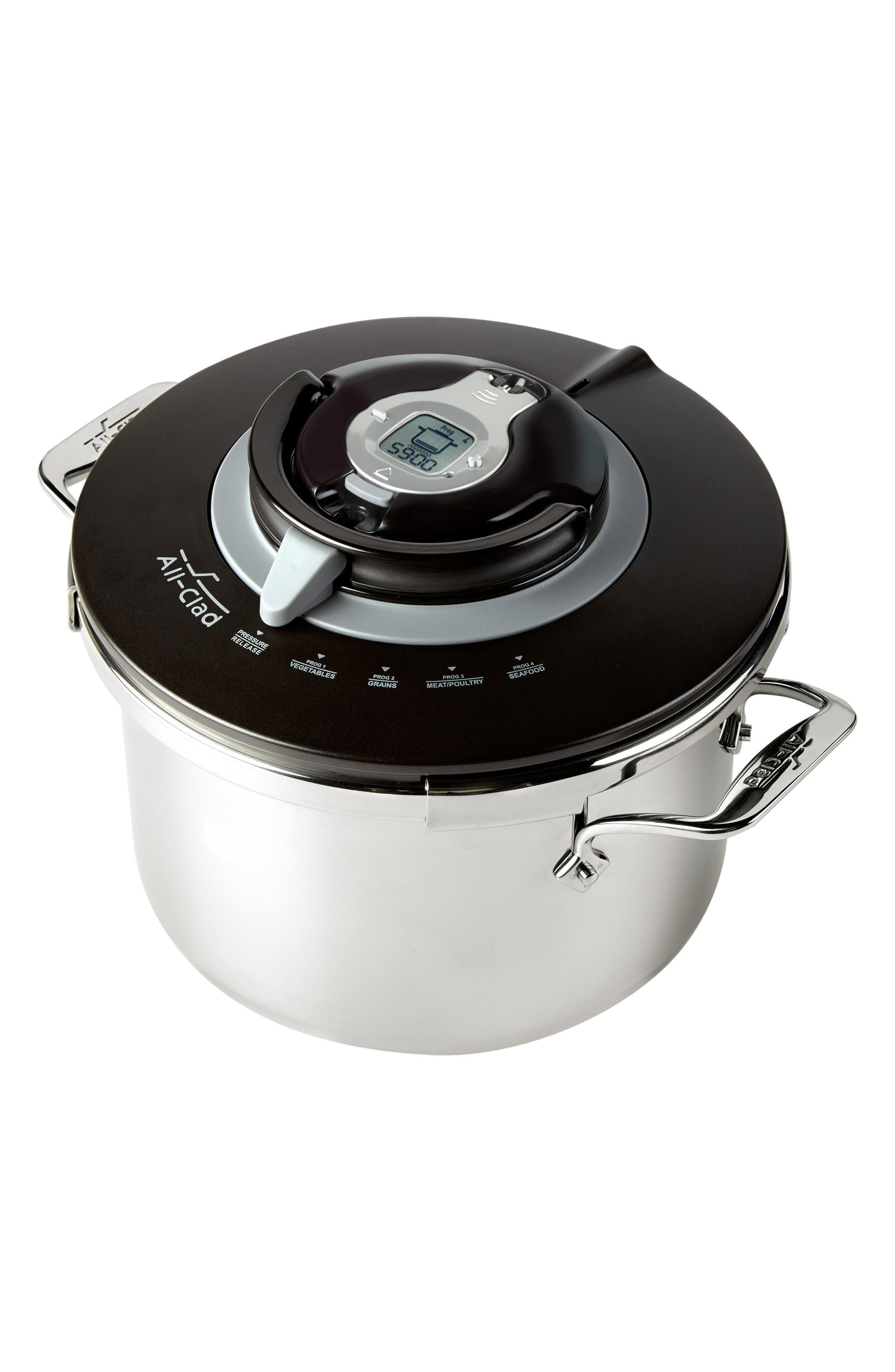 8.4-Quart Stovetop Pressure Cooker,                             Alternate thumbnail 2, color,                             STAINLESS