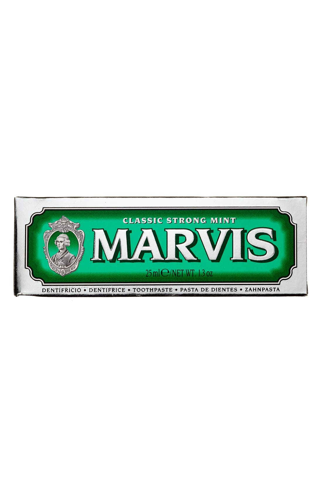 'Marvis' Mint Toothpaste,                             Alternate thumbnail 4, color,                             CLASSIC STRONG MINT