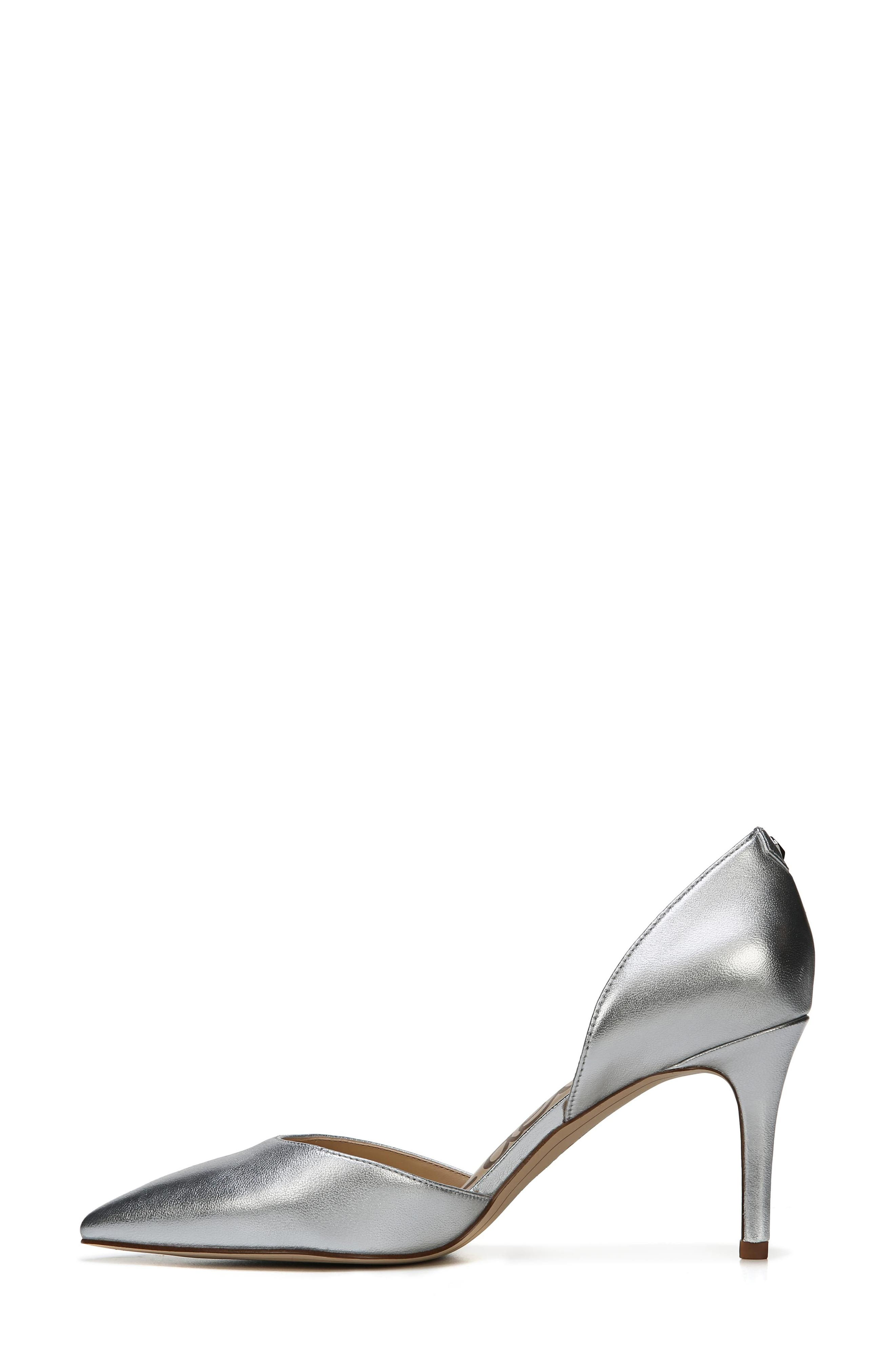 'Telsa' d'Orsay Pointy Toe Pump,                             Alternate thumbnail 3, color,                             040