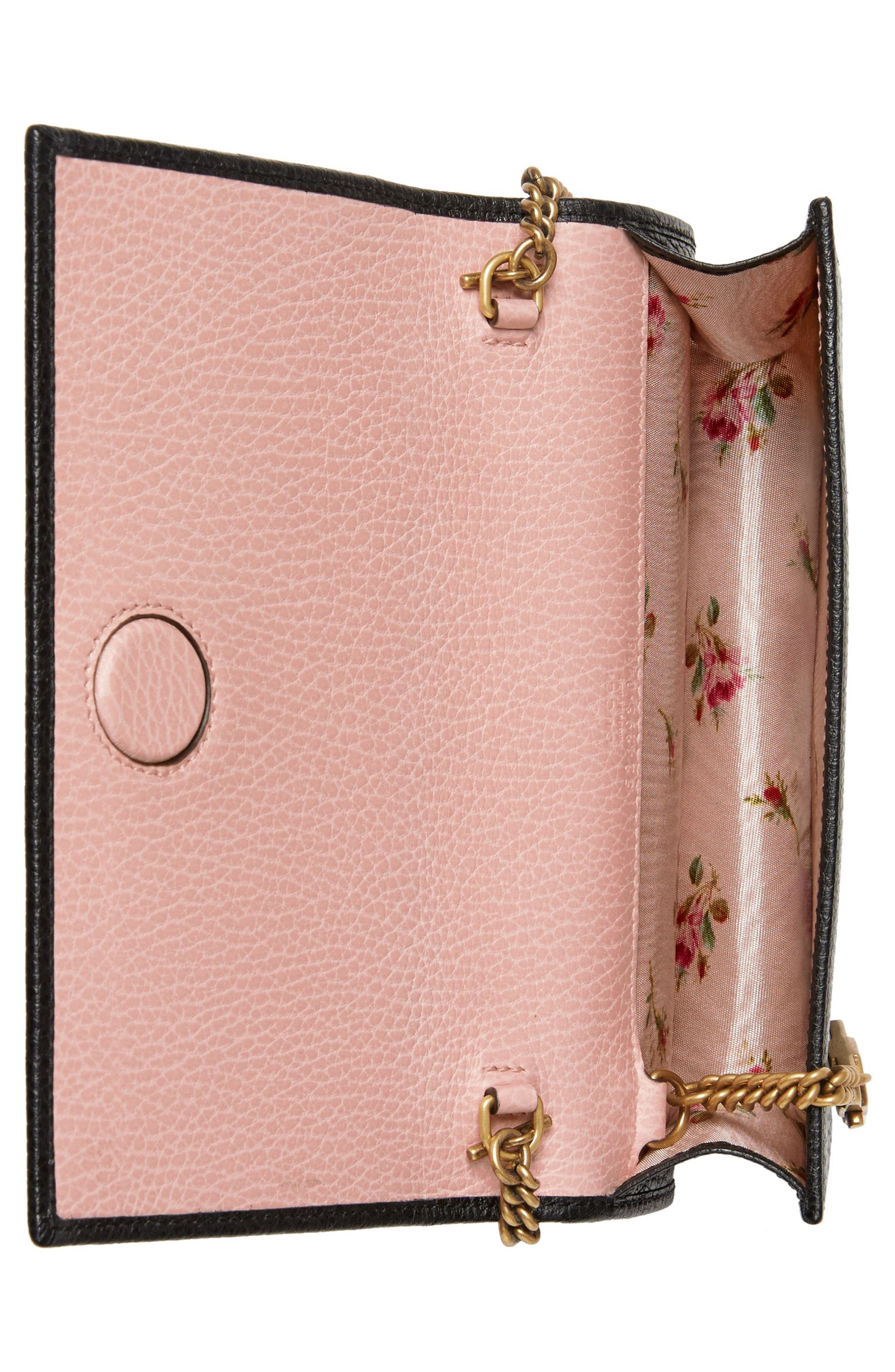 Fiocchino Leather Wallet on a Chain,                             Alternate thumbnail 2, color,                             001