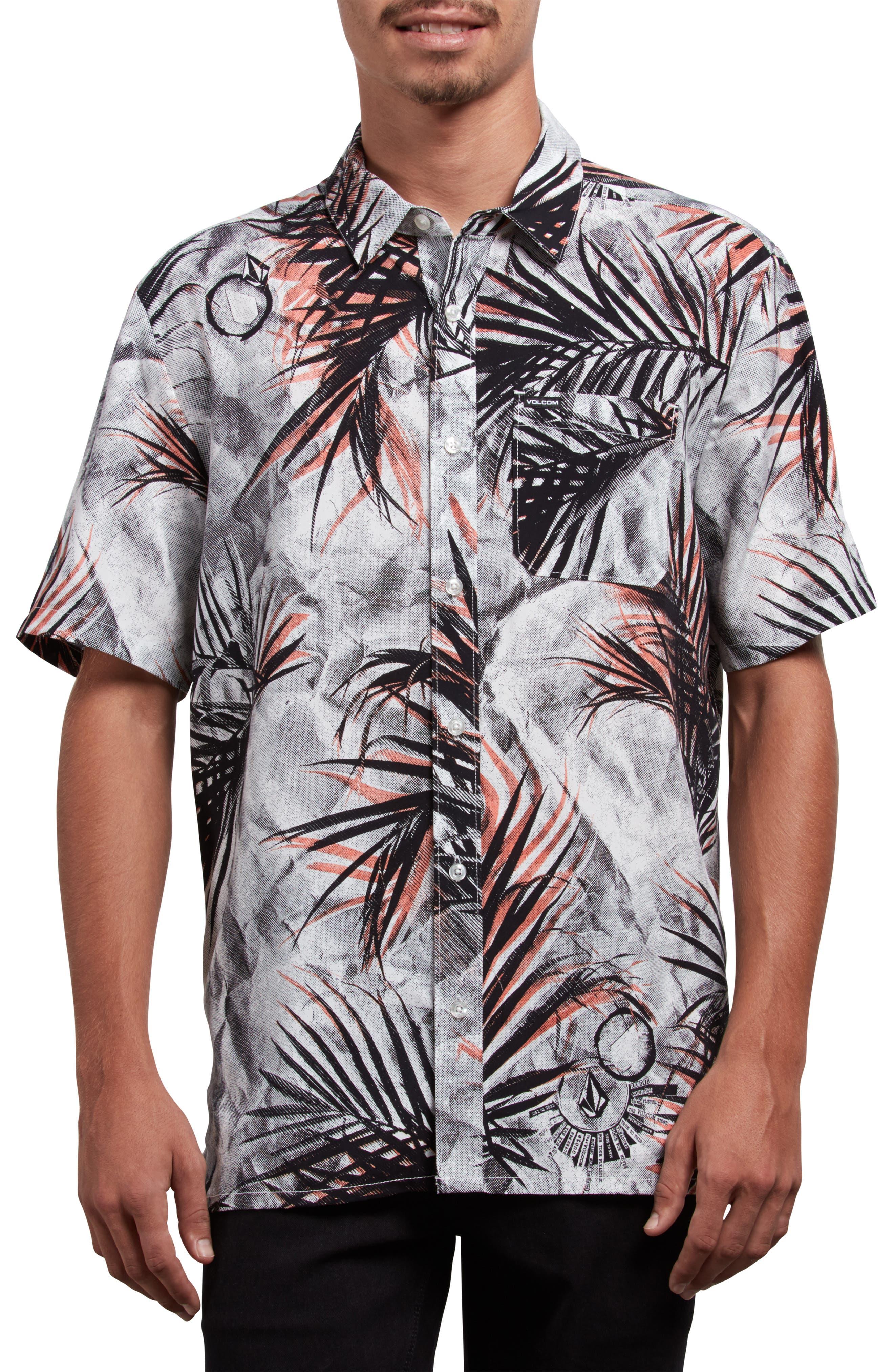 More Something Woven Shirt,                             Main thumbnail 1, color,                             WHITE