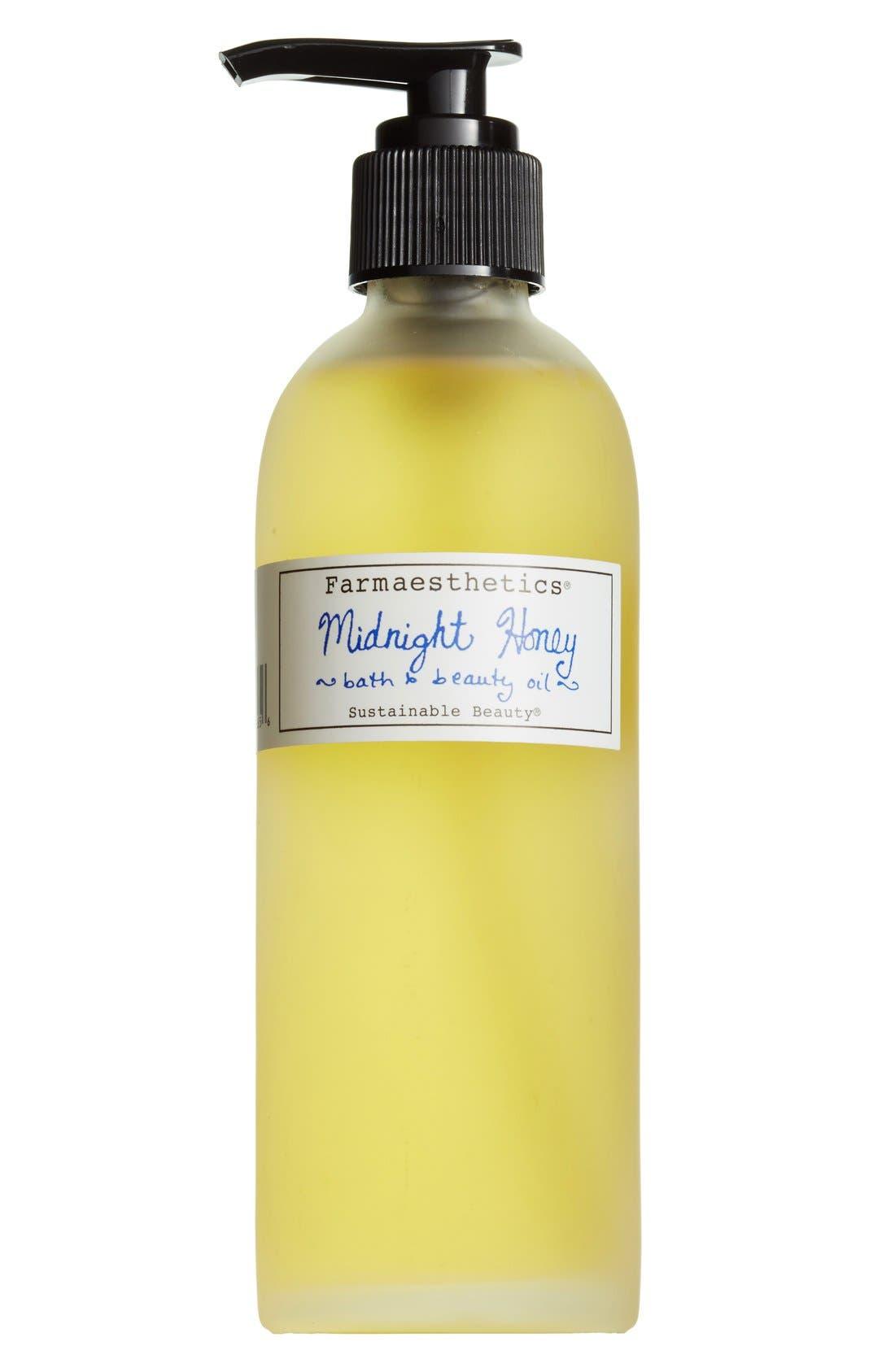 Midnight Honey Bath & Beauty Oil,                         Main,                         color, 000