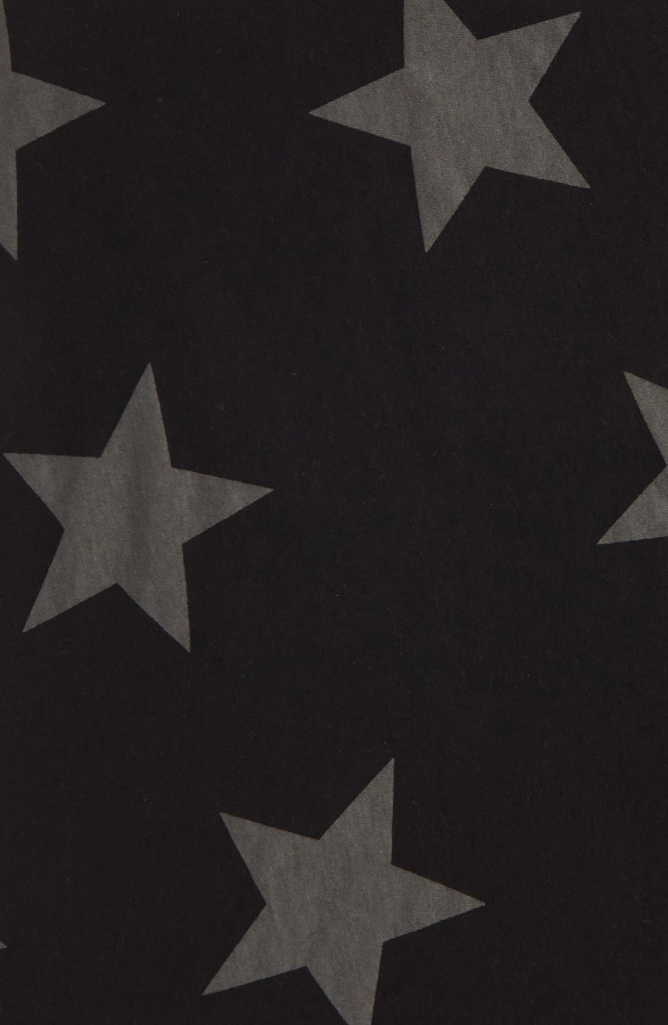 Star Print Blanket,                             Alternate thumbnail 2, color,                             001