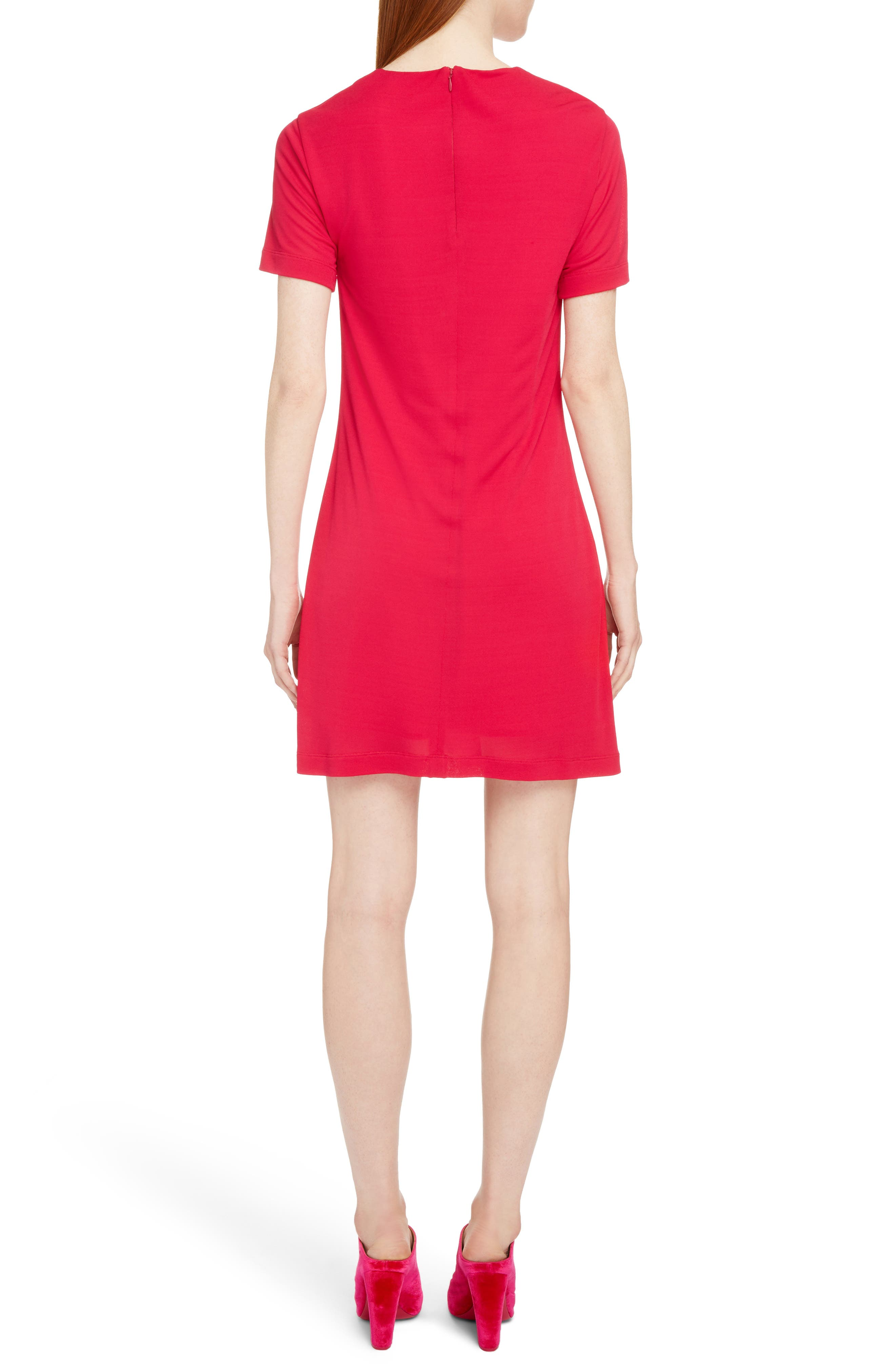 Gathered Jersey Dress,                             Alternate thumbnail 2, color,                             675