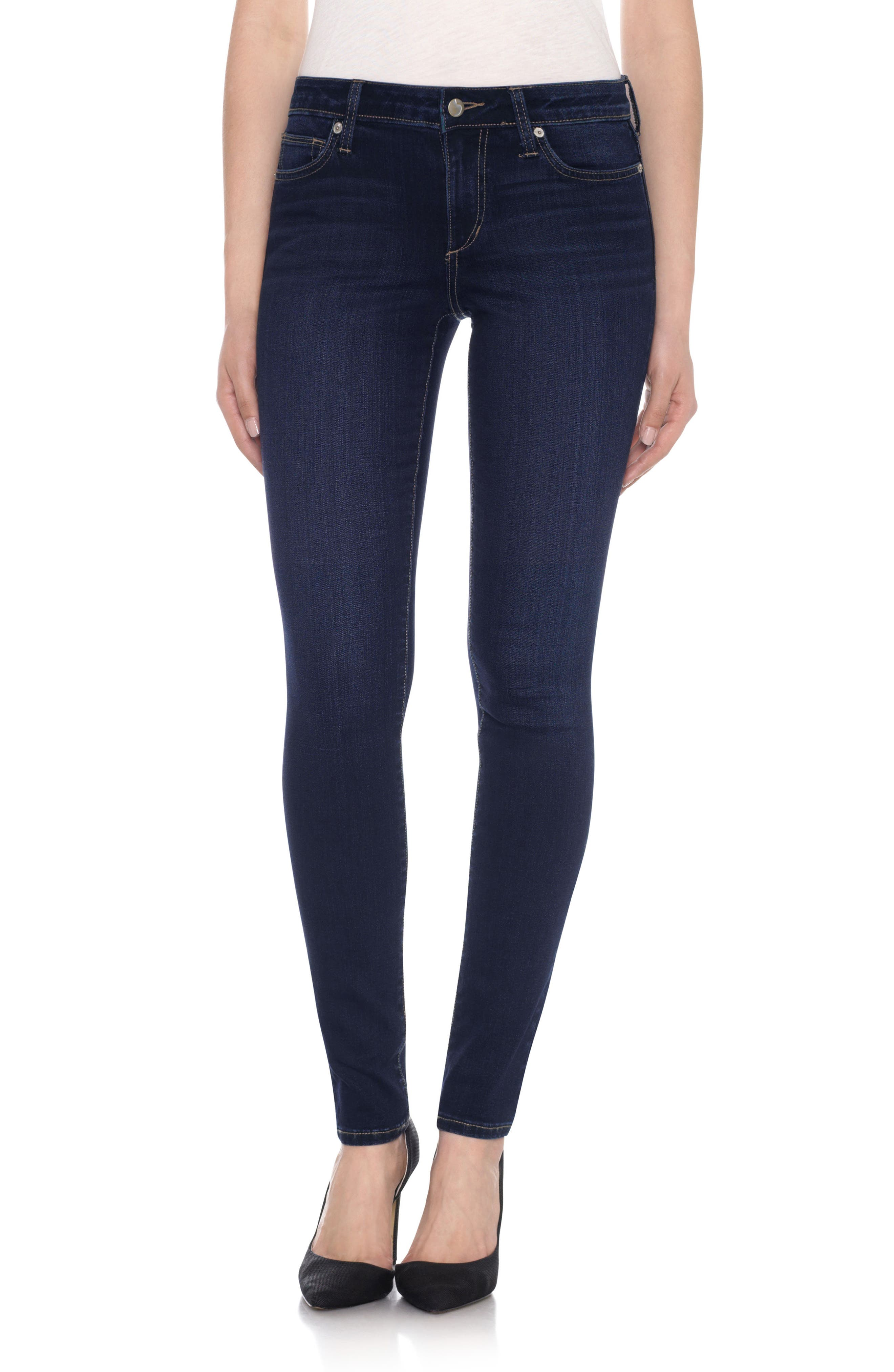Honey Curvy Skinny Jeans, Main, color, 400