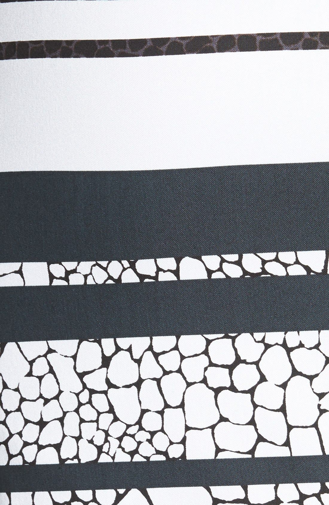 Print Pencil Skirt,                             Alternate thumbnail 24, color,