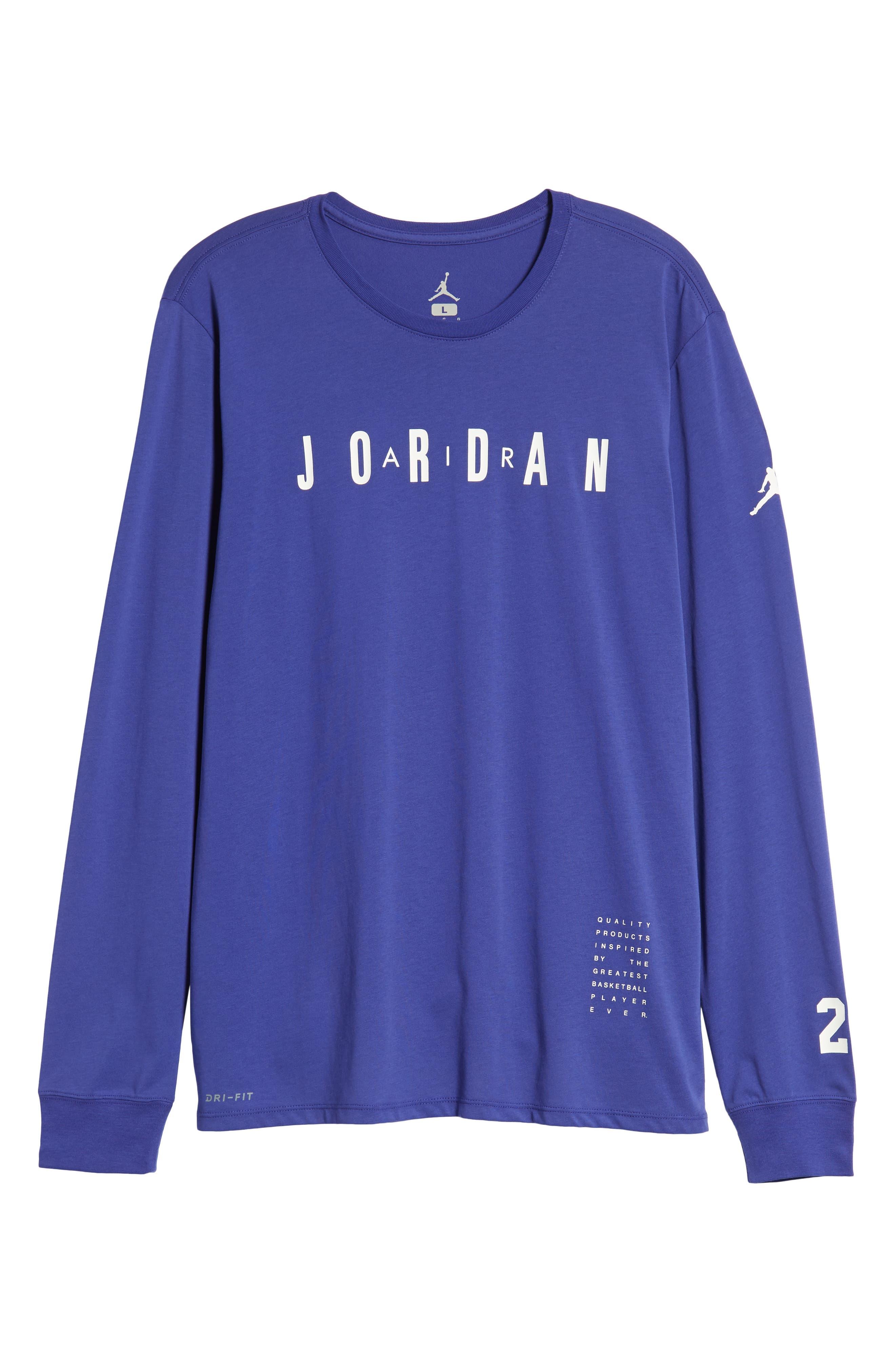 Basketball T-Shirt,                             Alternate thumbnail 6, color,                             BLUE