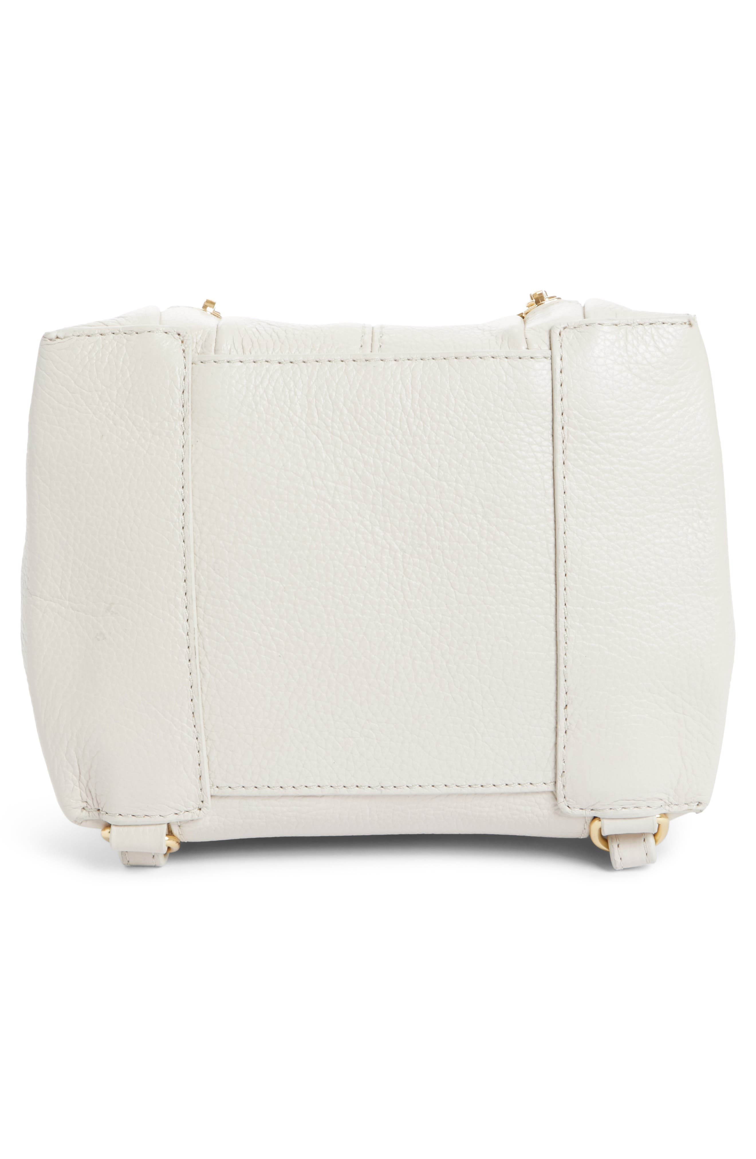 Small Olga Leather Backpack,                             Alternate thumbnail 18, color,