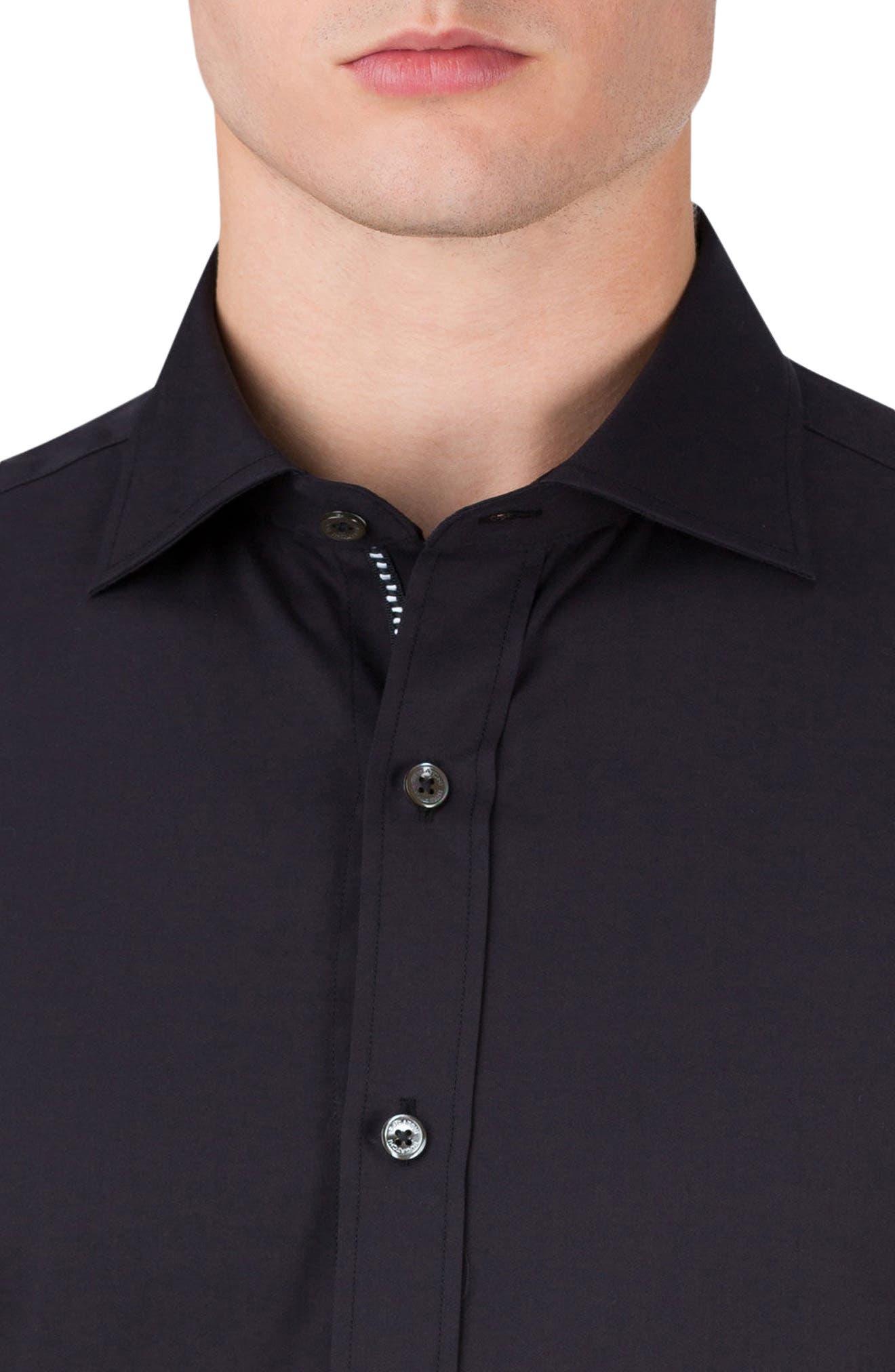 Classic Fit Sport Shirt,                             Alternate thumbnail 3, color,                             001