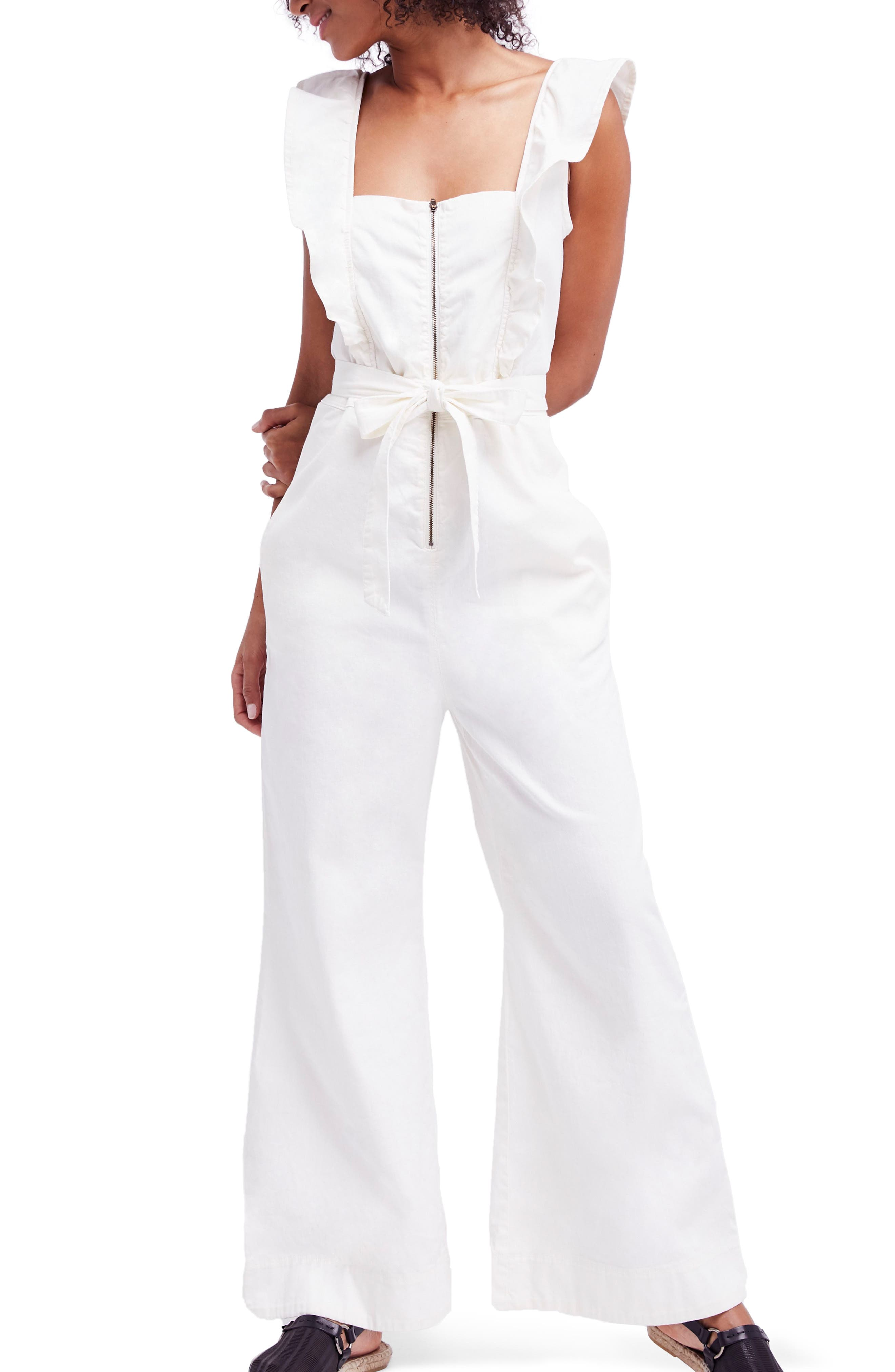 Sun Valley Ruffle Jumpsuit,                         Main,                         color,