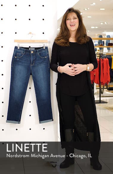 Luxe Touch High Waist Crop Skinny Jeans, sales video thumbnail