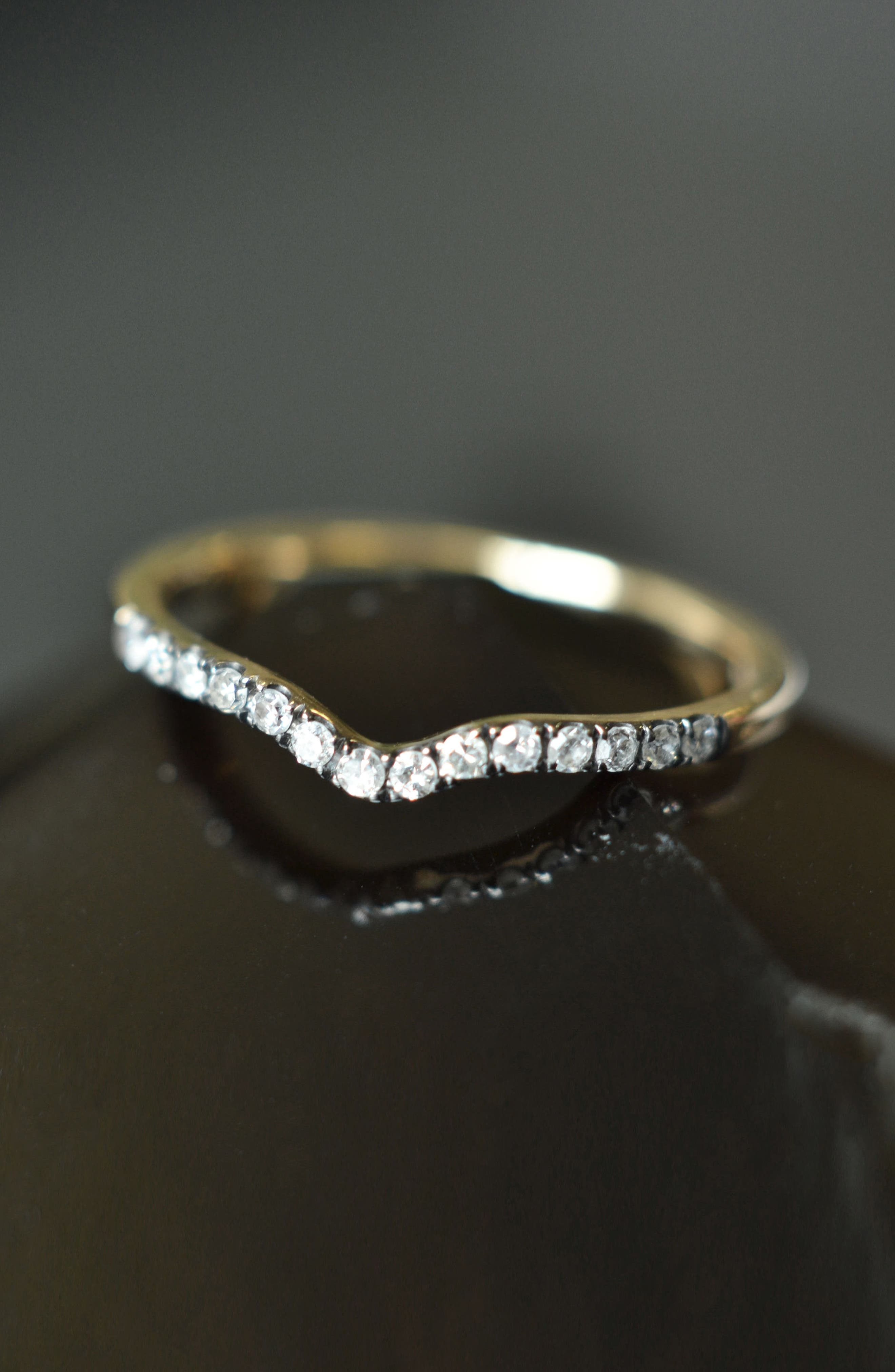 Unity Diamond Band Ring,                             Alternate thumbnail 3, color,                             YELLOW GOLD