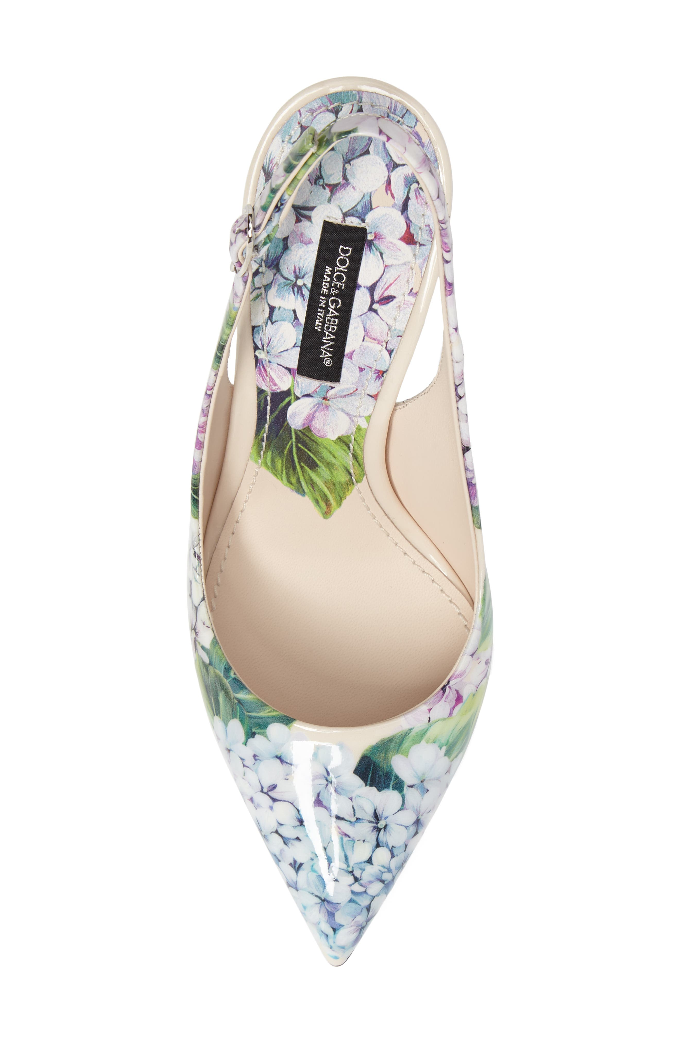 Hydrangea Slingback Sandal,                             Alternate thumbnail 5, color,                             101