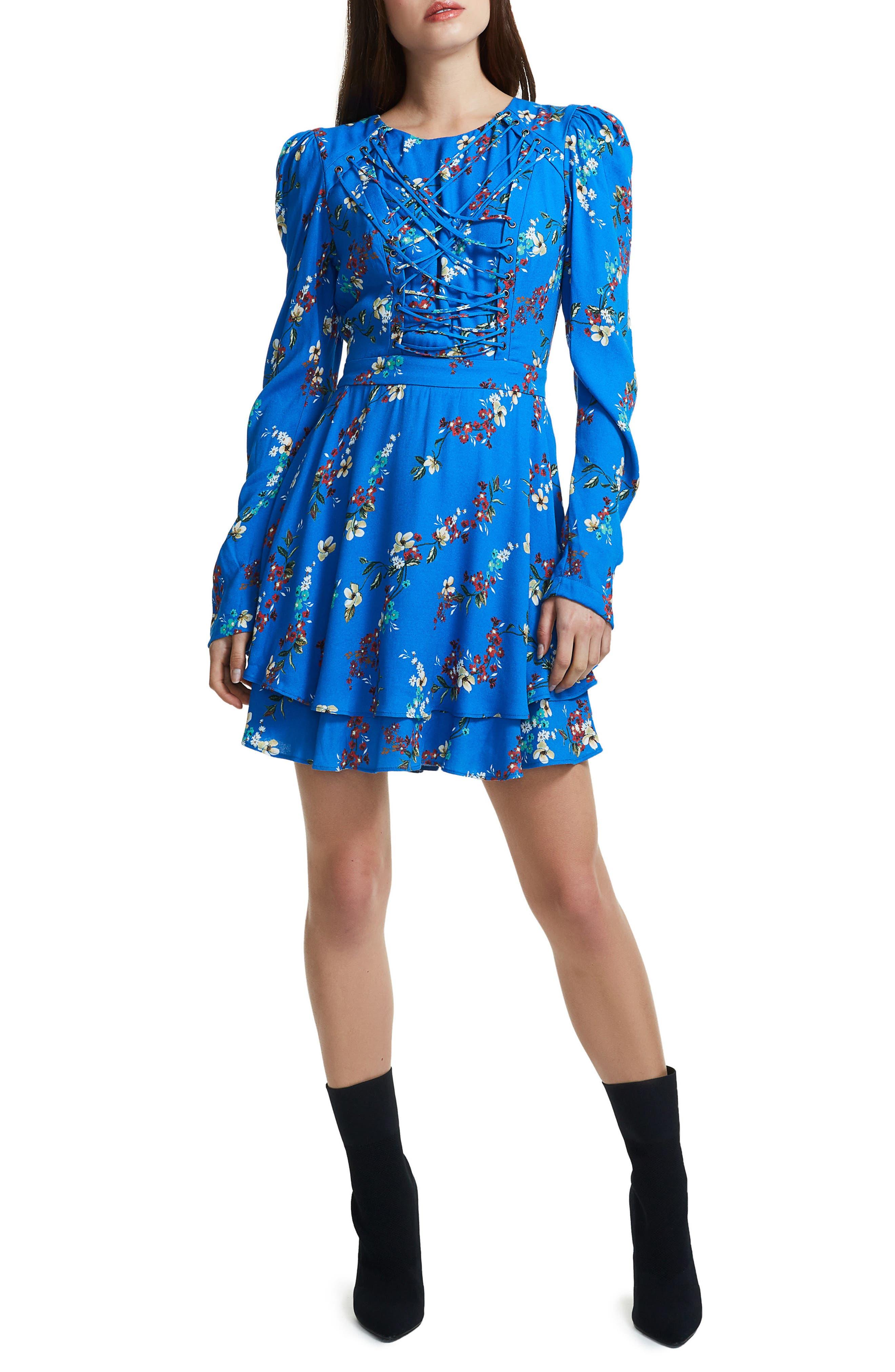 Avery Strappy Babydoll Dress,                             Alternate thumbnail 11, color,