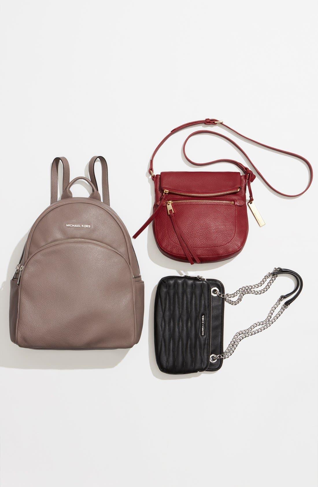 'Tala' Leather Crossbody Bag,                             Alternate thumbnail 7, color,                             203