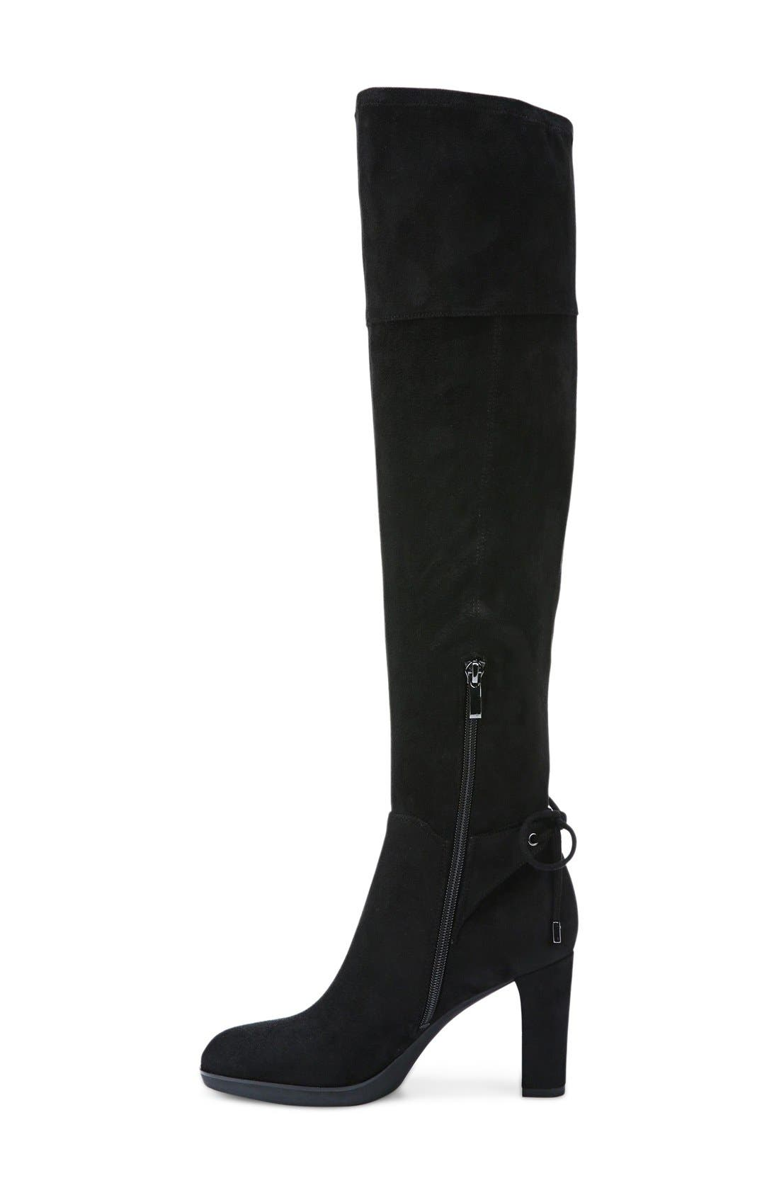 Ivanea Over the Knee Boot,                             Alternate thumbnail 4, color,                             001