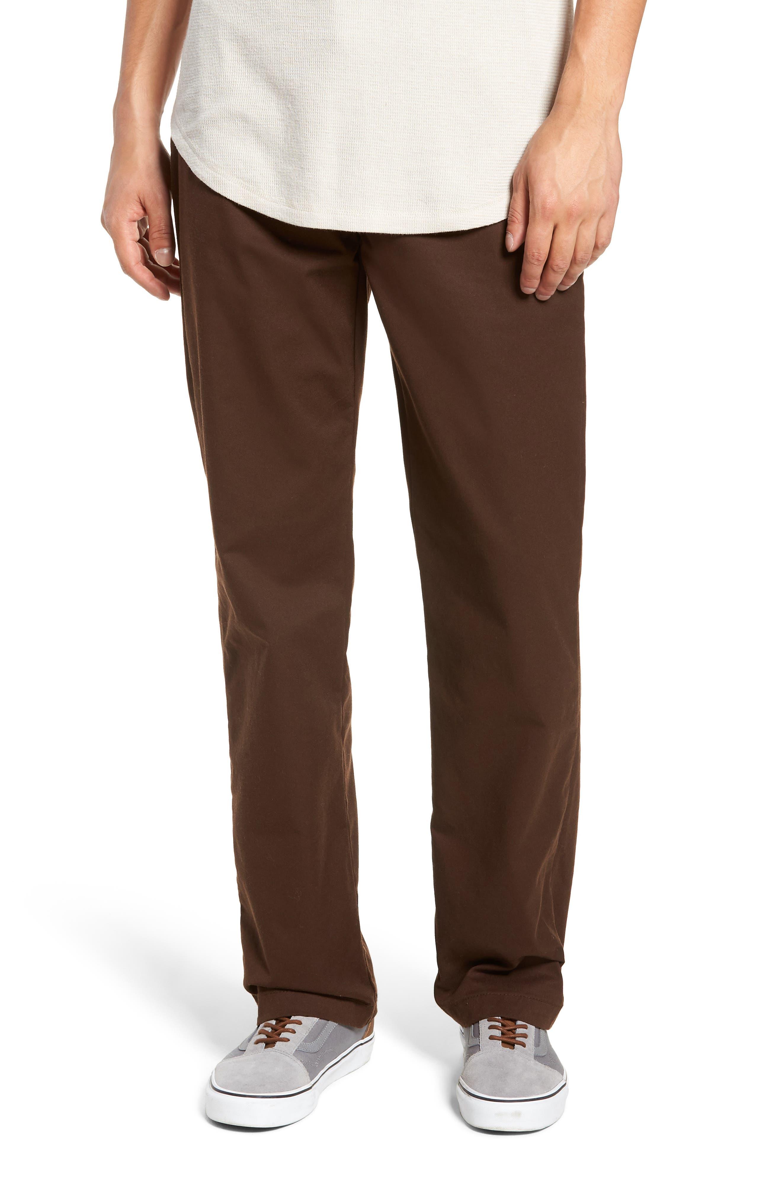 Authentic Chino Pro Pants,                         Main,                         color, DEMITASSE