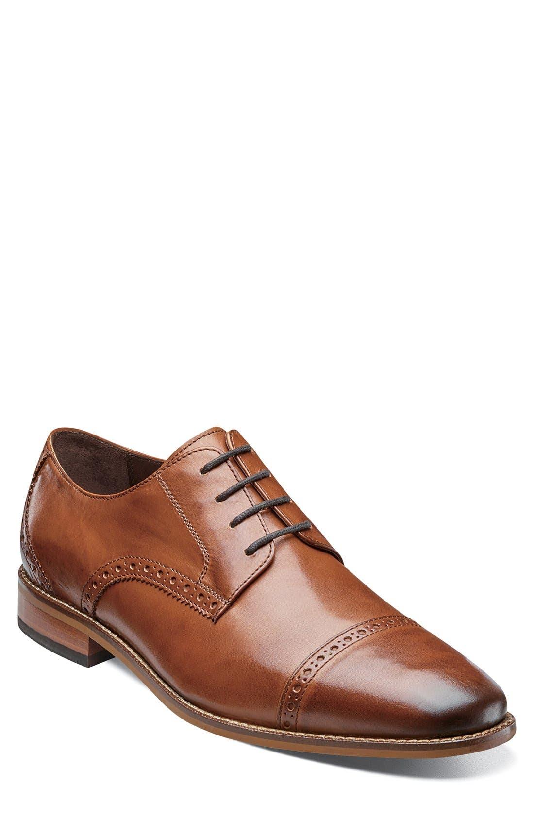 'Castellano' Cap Toe Derby,                         Main,                         color, 257