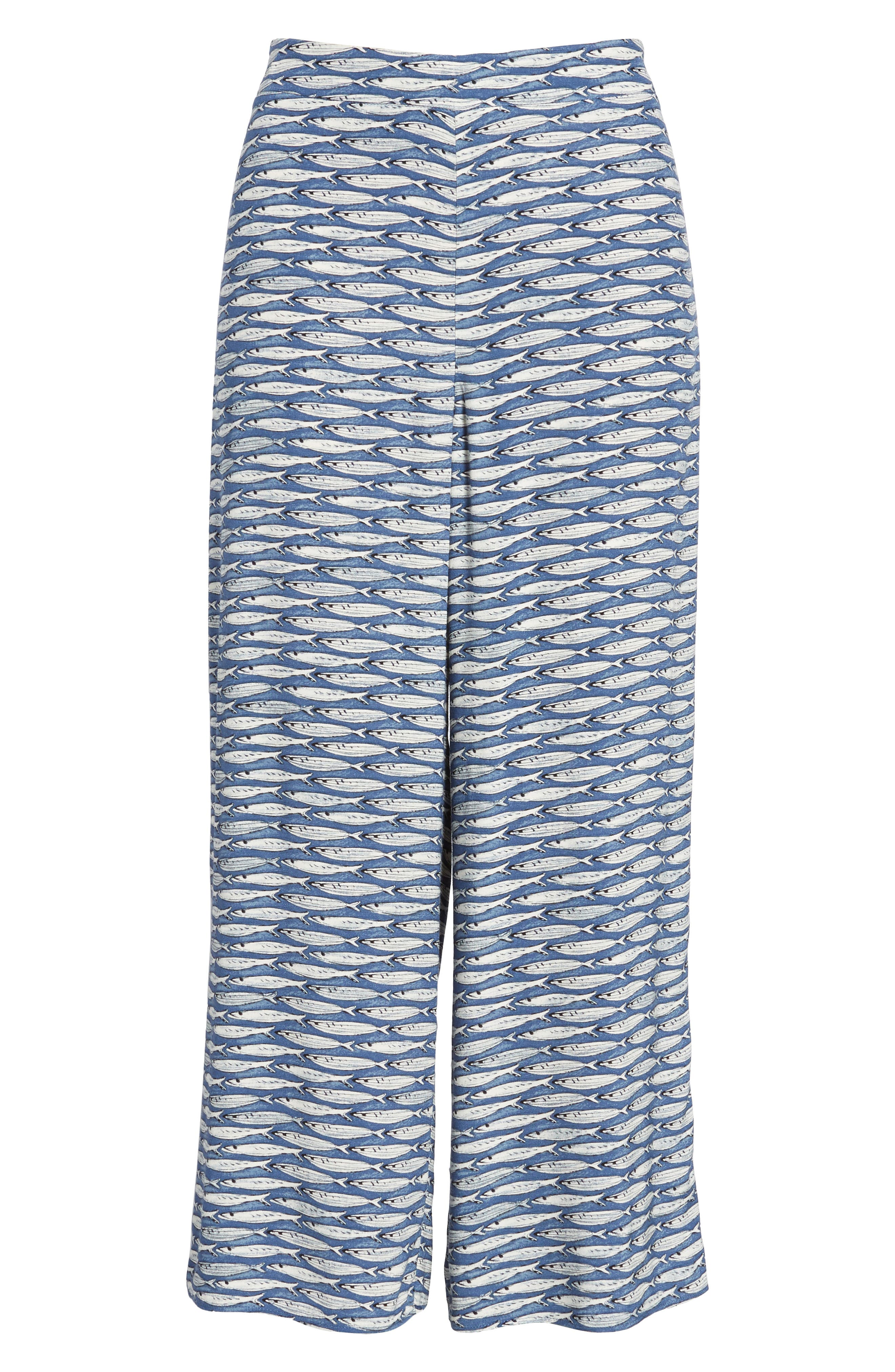 Big Sea Crop Pants,                             Alternate thumbnail 7, color,                             490