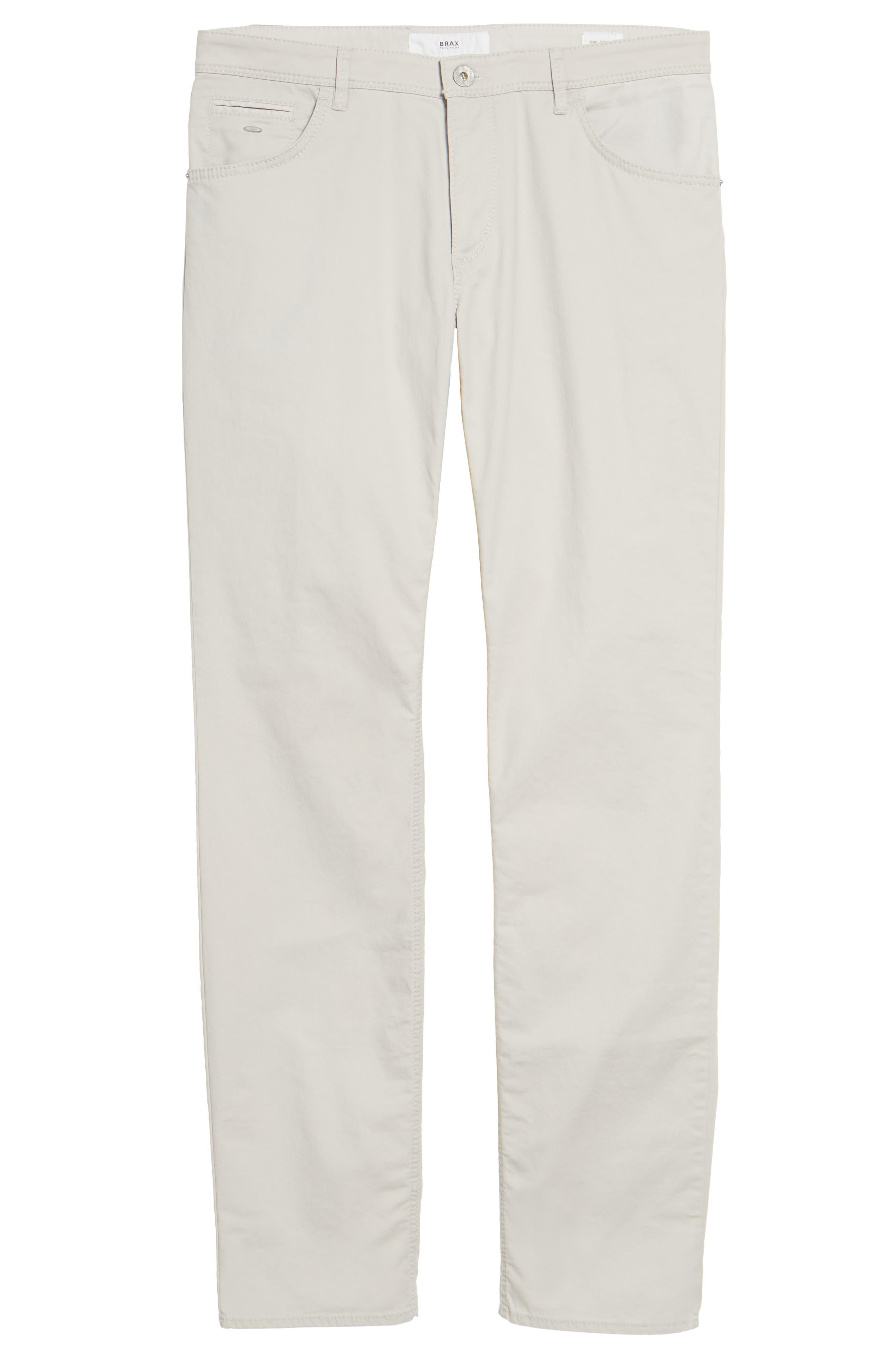 Chuck Flat Front Stretch Cotton Pants,                             Alternate thumbnail 6, color,                             250