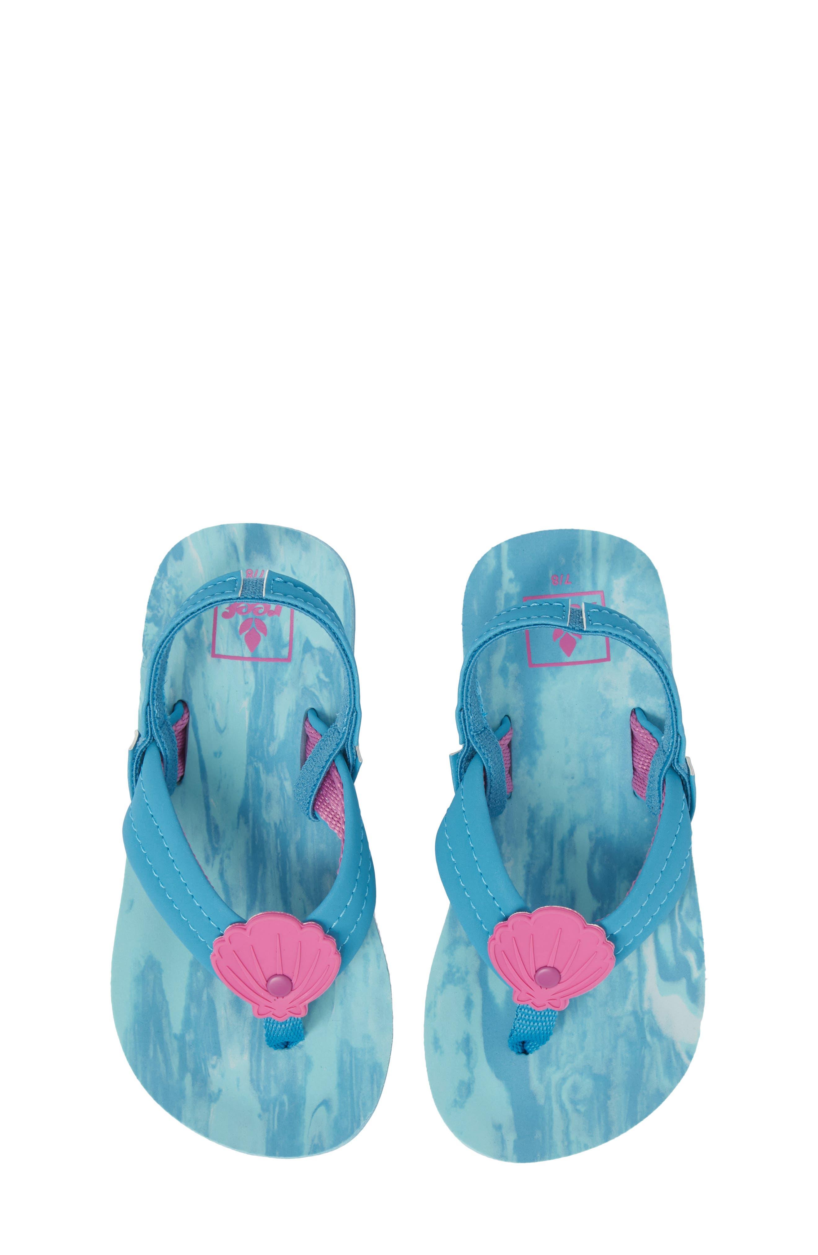 Little Ahi Swirl Flip Flop,                             Main thumbnail 1, color,                             423