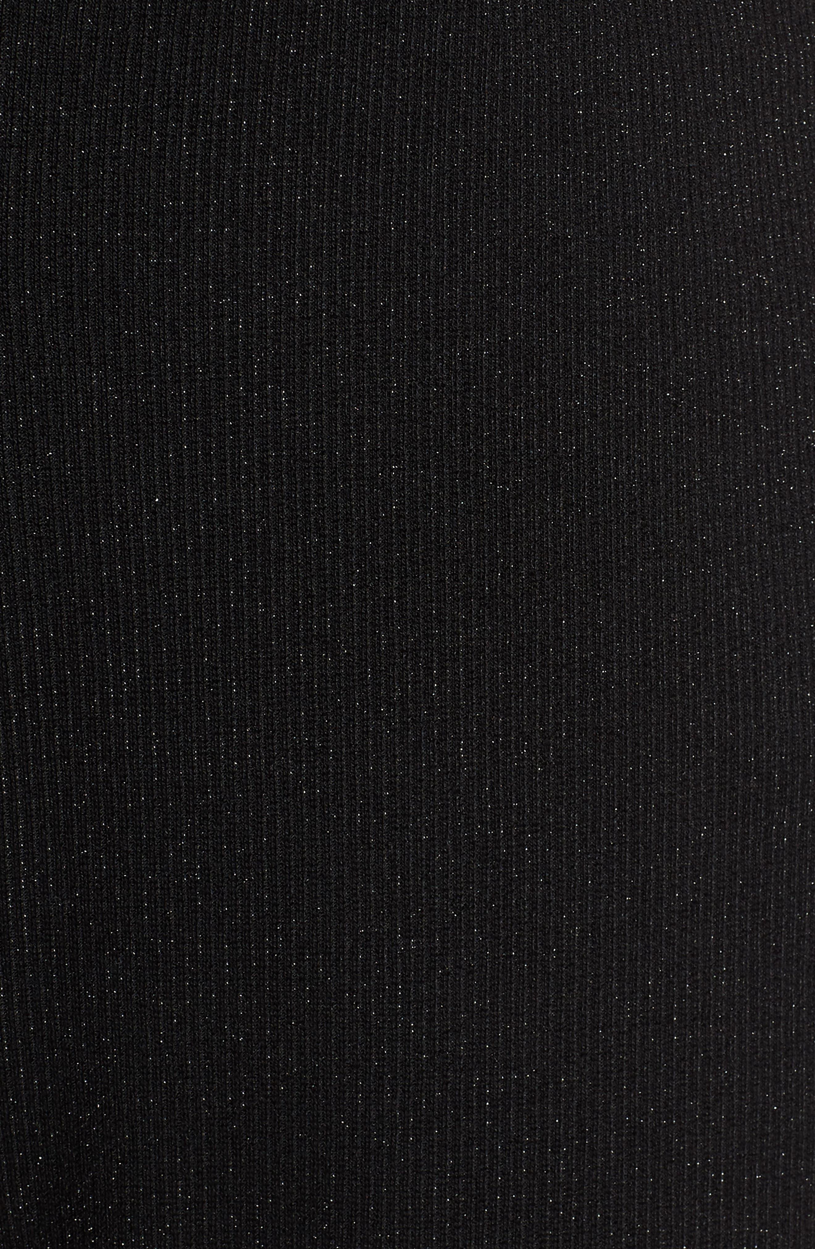 Strappy Wide Leg Jumpsuit,                             Alternate thumbnail 6, color,                             BLACK