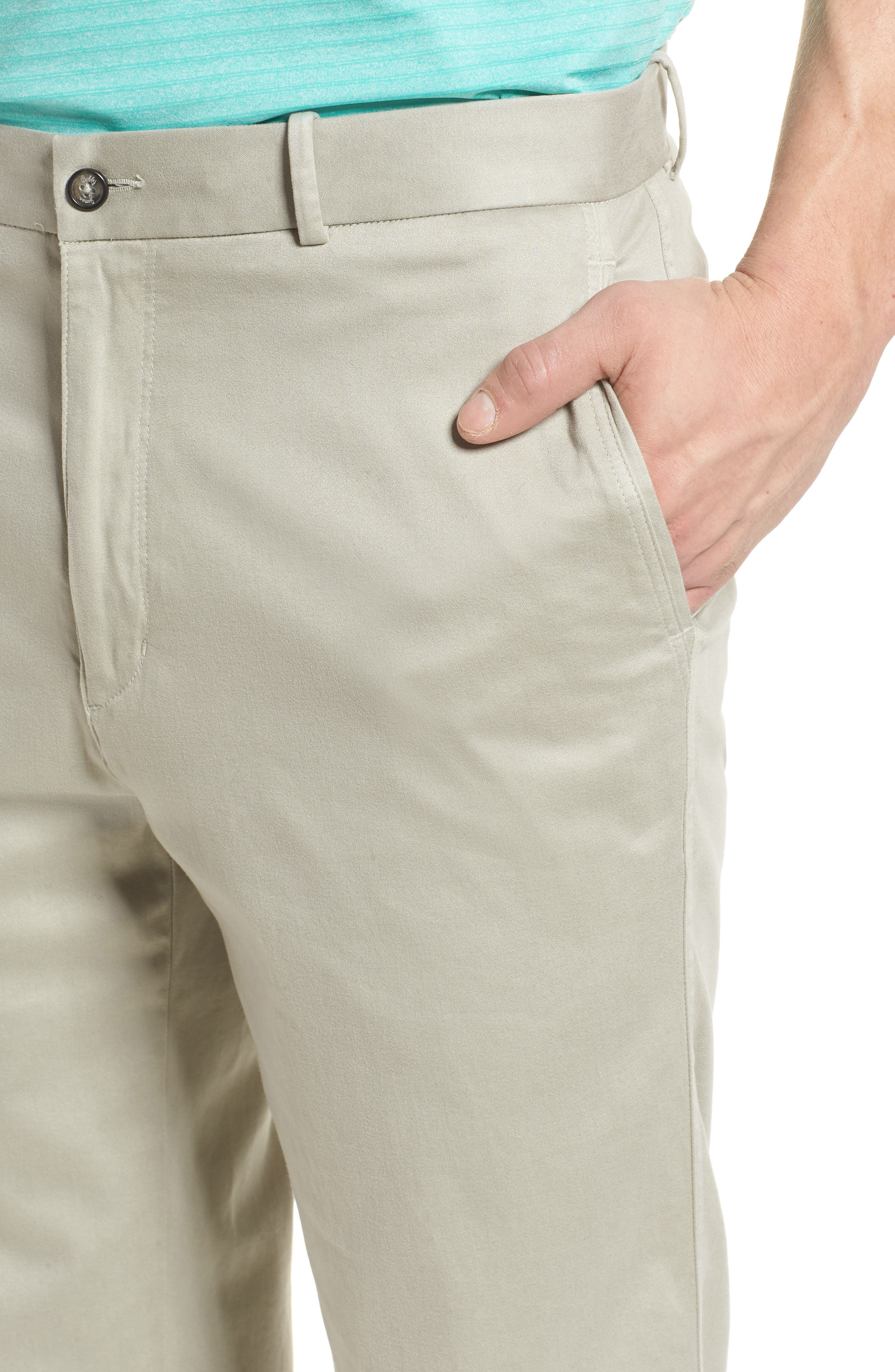 St. Charles Brushed Chino Pants,                             Alternate thumbnail 4, color,                             051