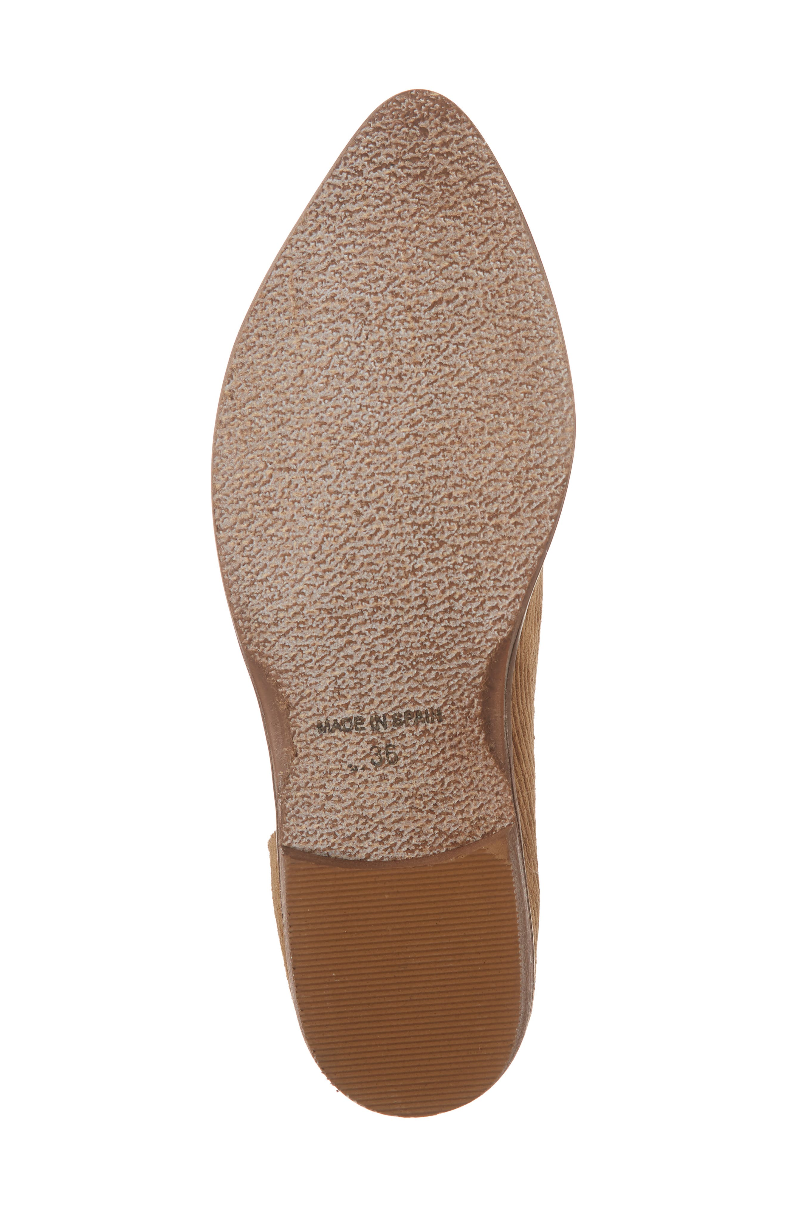 'Royale' Pointy Toe Flat,                             Alternate thumbnail 6, color,                             GOLD