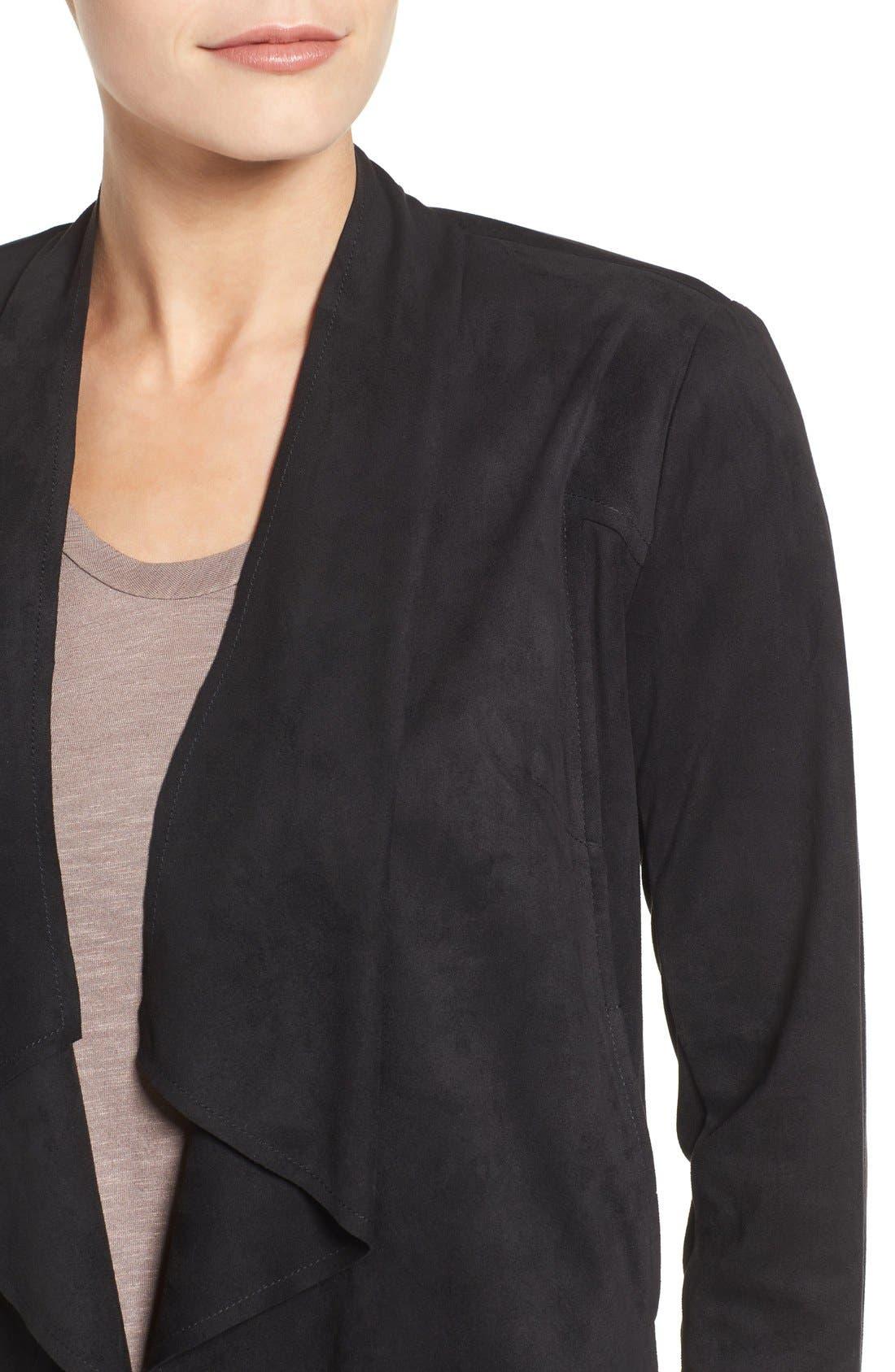 Tayanita Faux Suede Jacket,                             Alternate thumbnail 55, color,