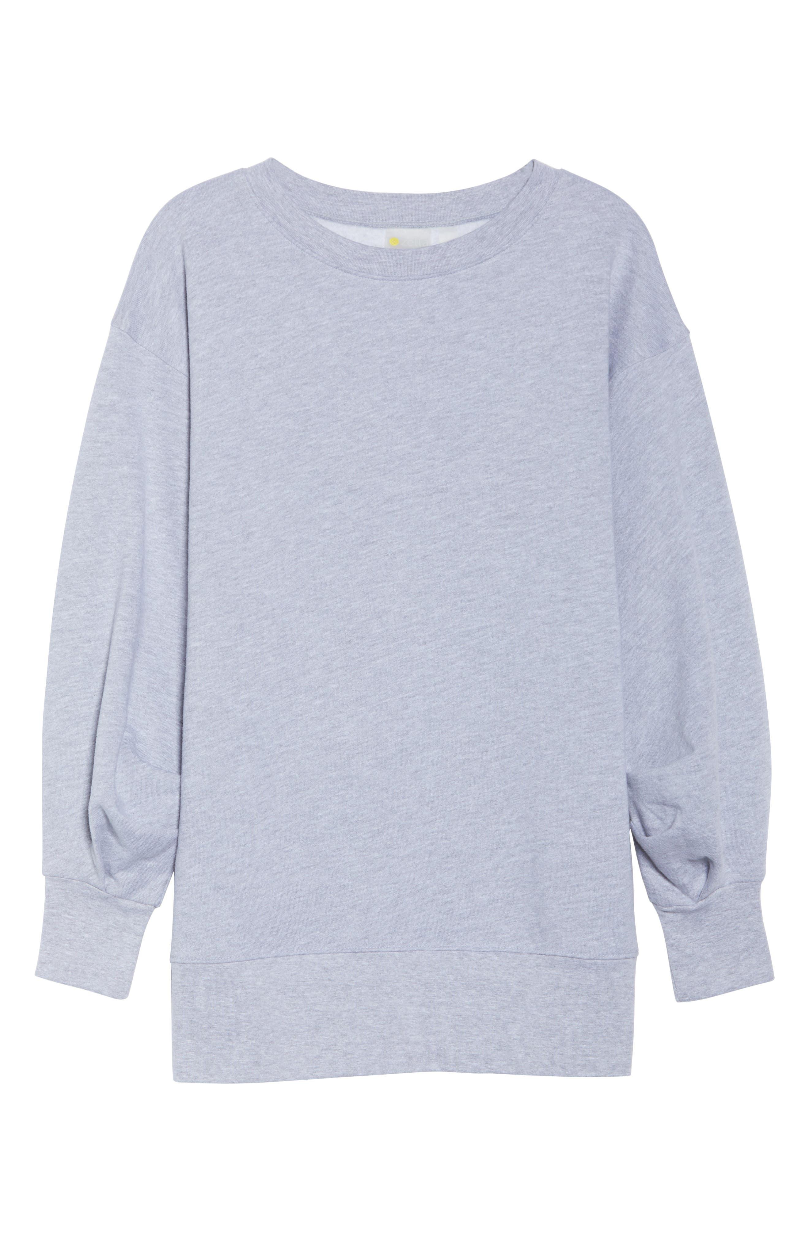 Boxy Oversize Sweatshirt,                             Alternate thumbnail 19, color,