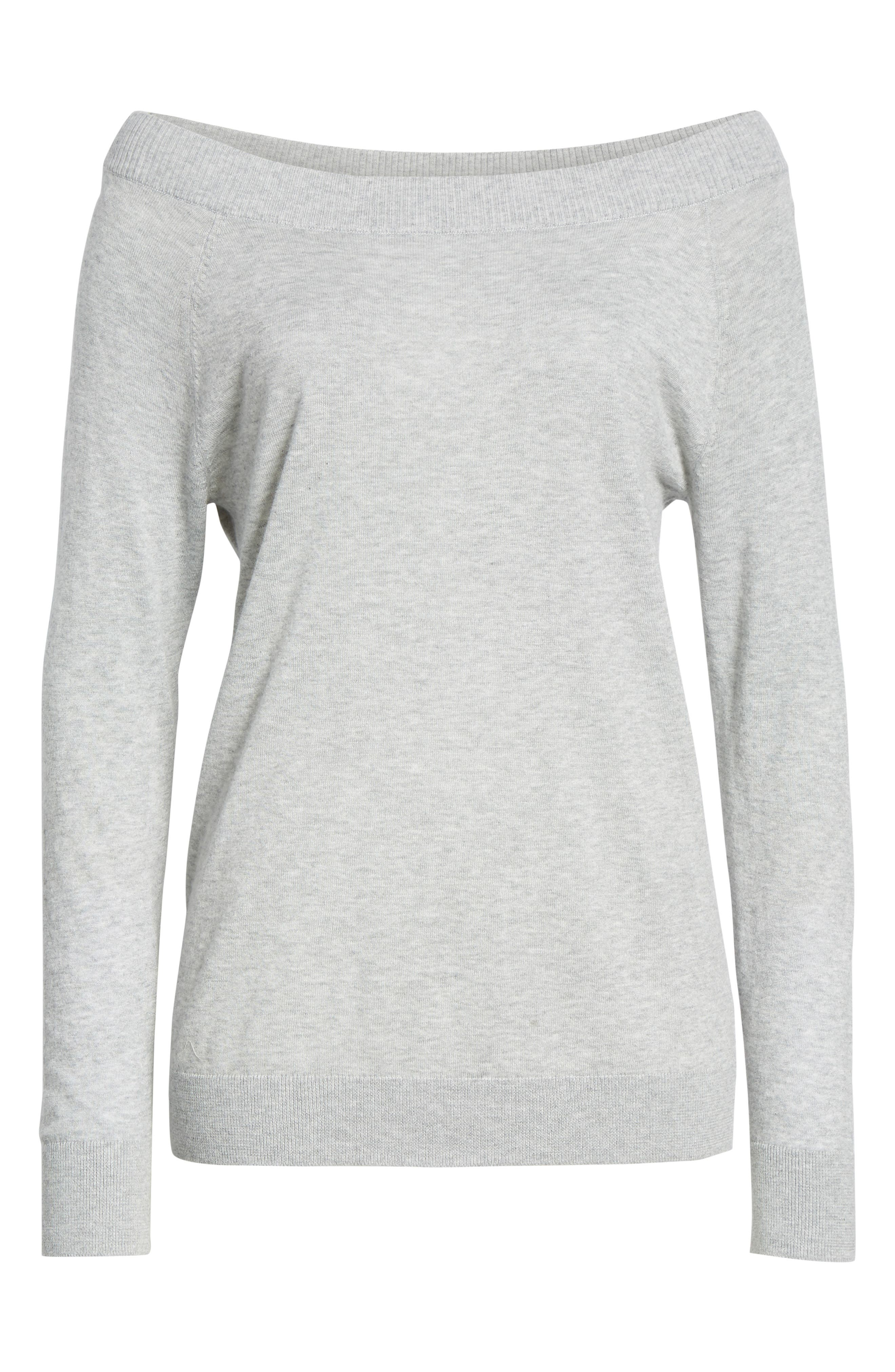 Convertible Bateau Neck Sweater,                             Alternate thumbnail 19, color,