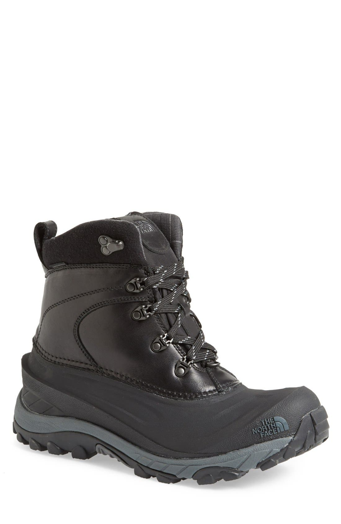 'Chilkat II Luxe' Snow Boot,                             Main thumbnail 1, color,                             001
