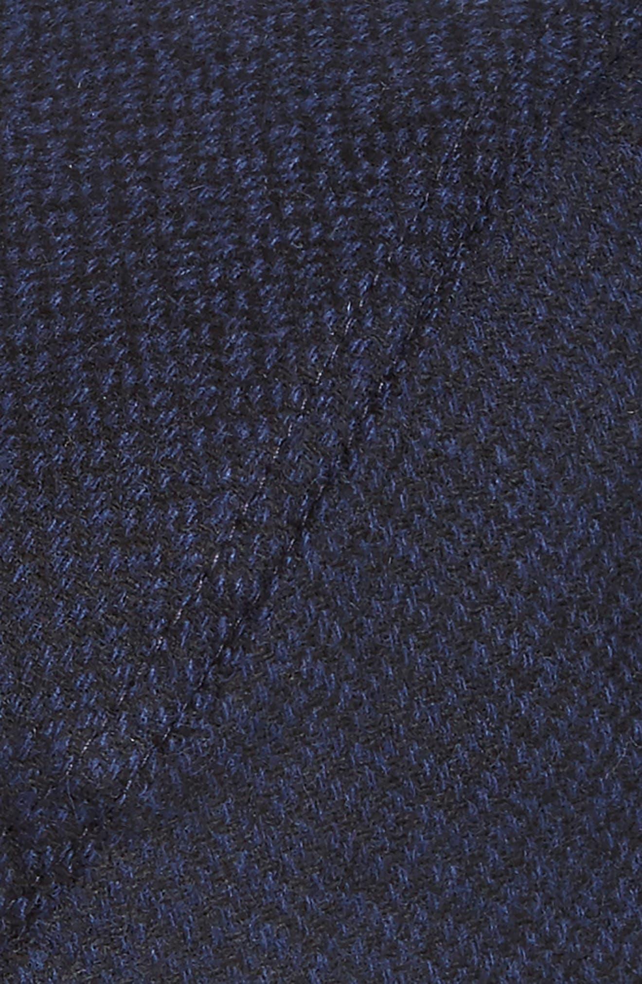 Ted Baker Thompson Wool Blend Flat Driving Cap,                             Alternate thumbnail 4, color,