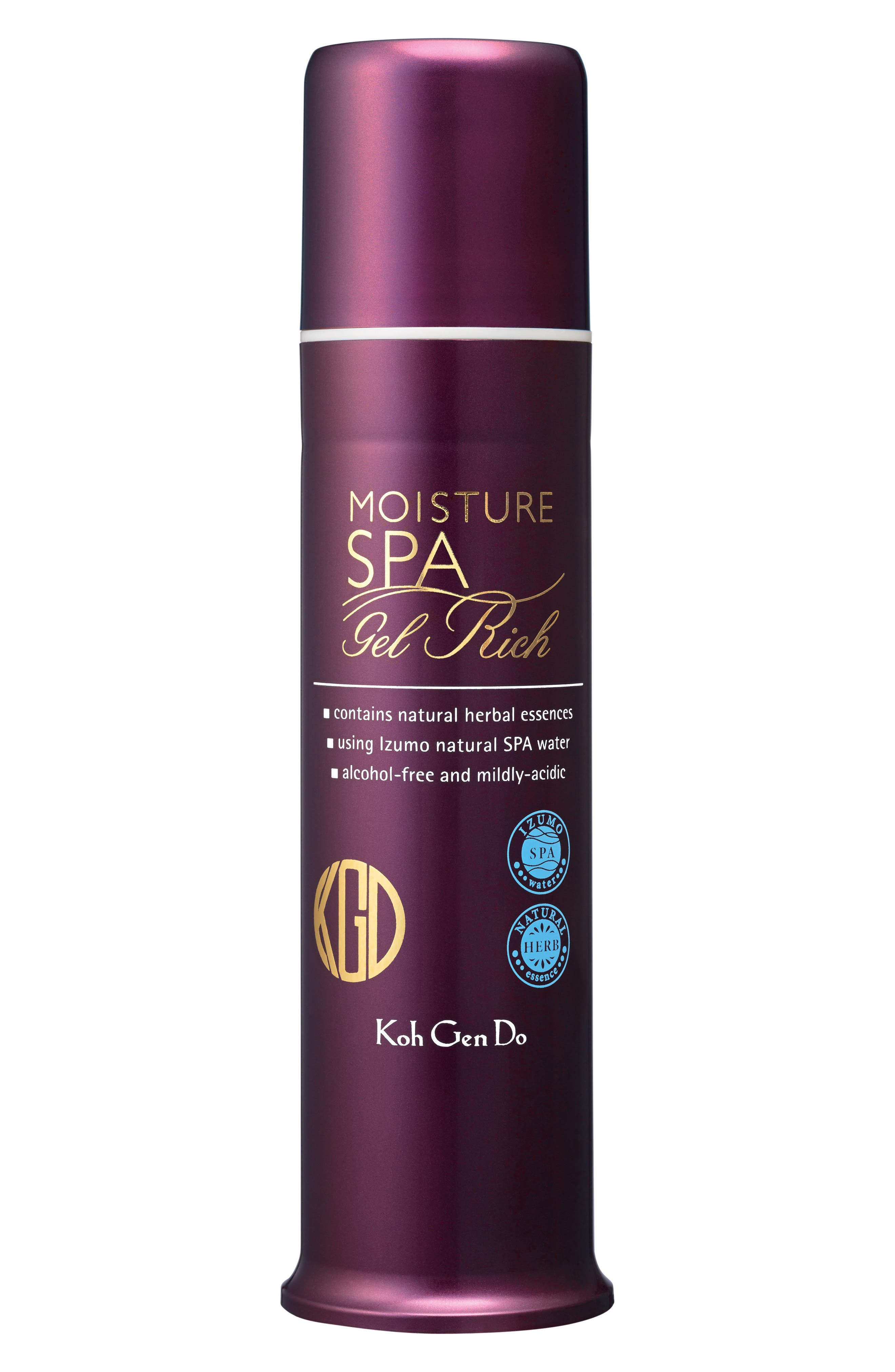 All in One Moisture Spa Gel Rich,                             Main thumbnail 1, color,                             000
