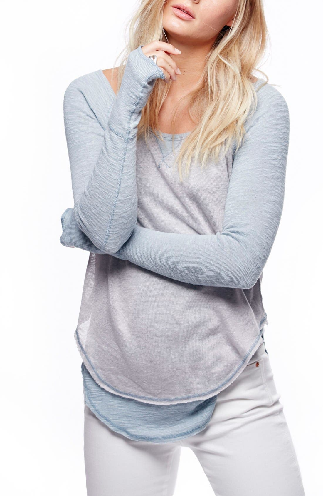 We the Free by Free People Friday Feelin Tee,                             Main thumbnail 3, color,